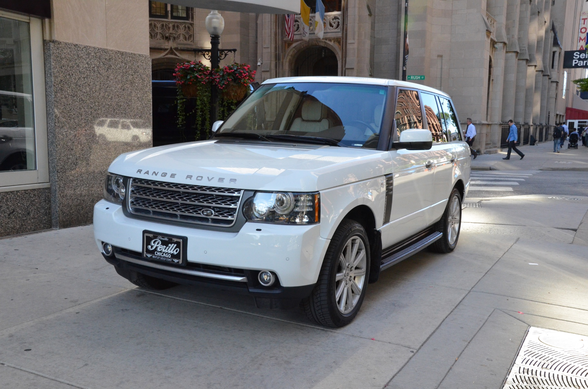 2011 land rover range rover supercharged stock gc1290a for sale near chicago il il land. Black Bedroom Furniture Sets. Home Design Ideas