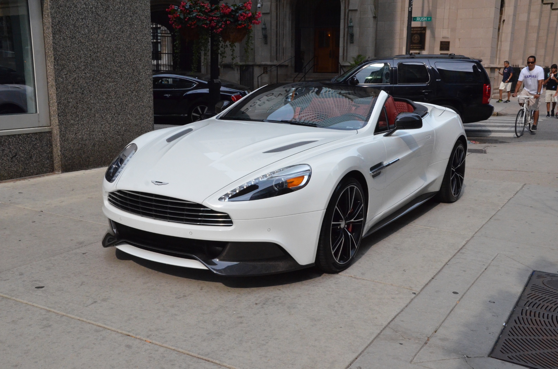 2014 aston martin vanquish convertible stock r164a for sale near chicago il il aston martin. Black Bedroom Furniture Sets. Home Design Ideas
