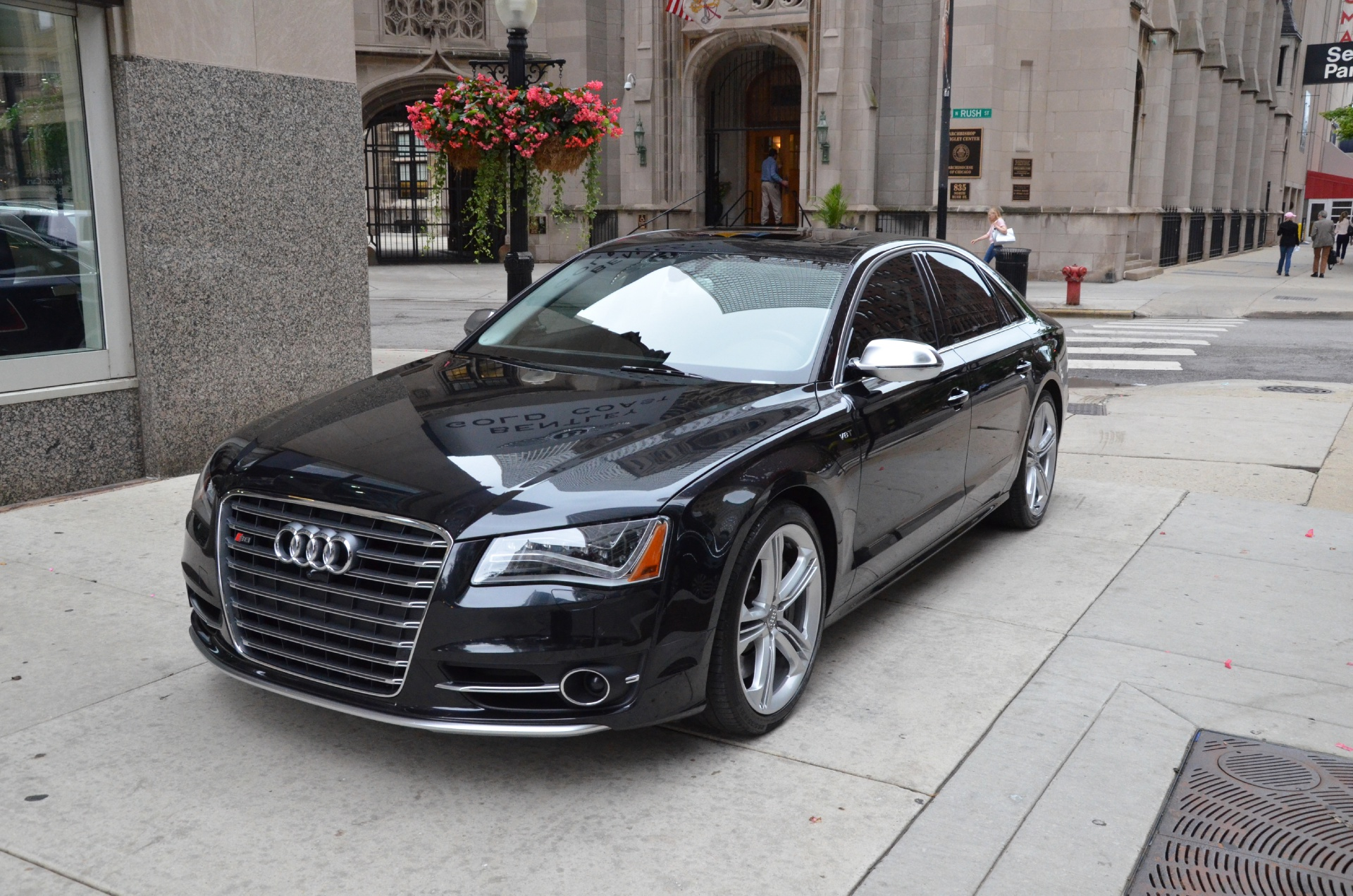 2013 audi s8 4 0t quattro stock r156a for sale near chicago il il audi dealer. Black Bedroom Furniture Sets. Home Design Ideas