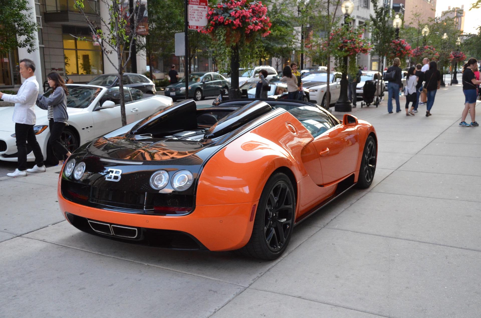 2012 Bugatti Veyron Vitesse Stock # 95013 for sale near Chicago, IL ...