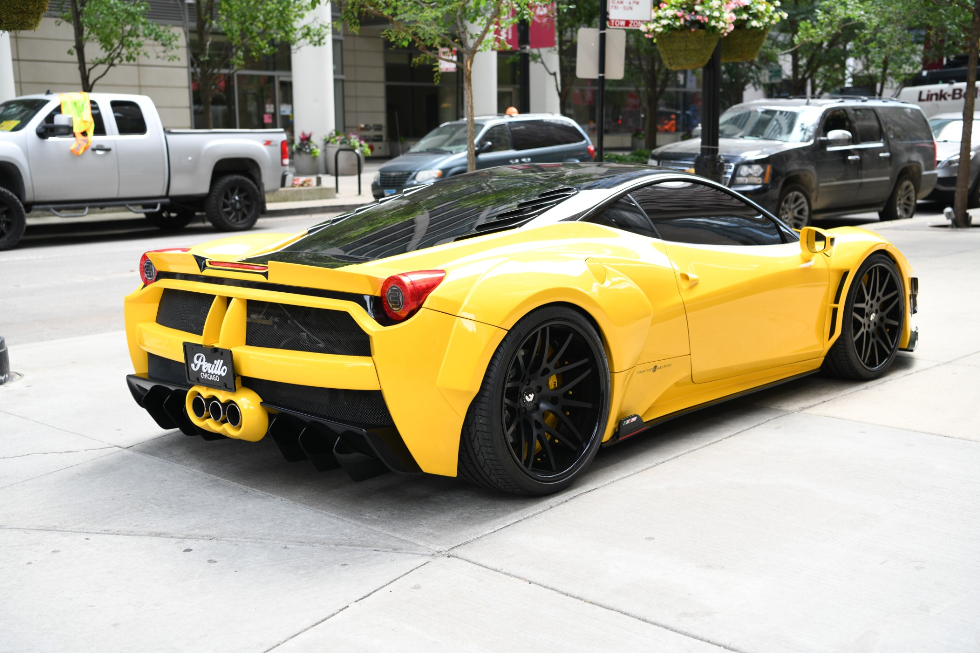 2013 ferrari 458 italia stock b626a s for sale near chicago il il ferrari dealer. Black Bedroom Furniture Sets. Home Design Ideas