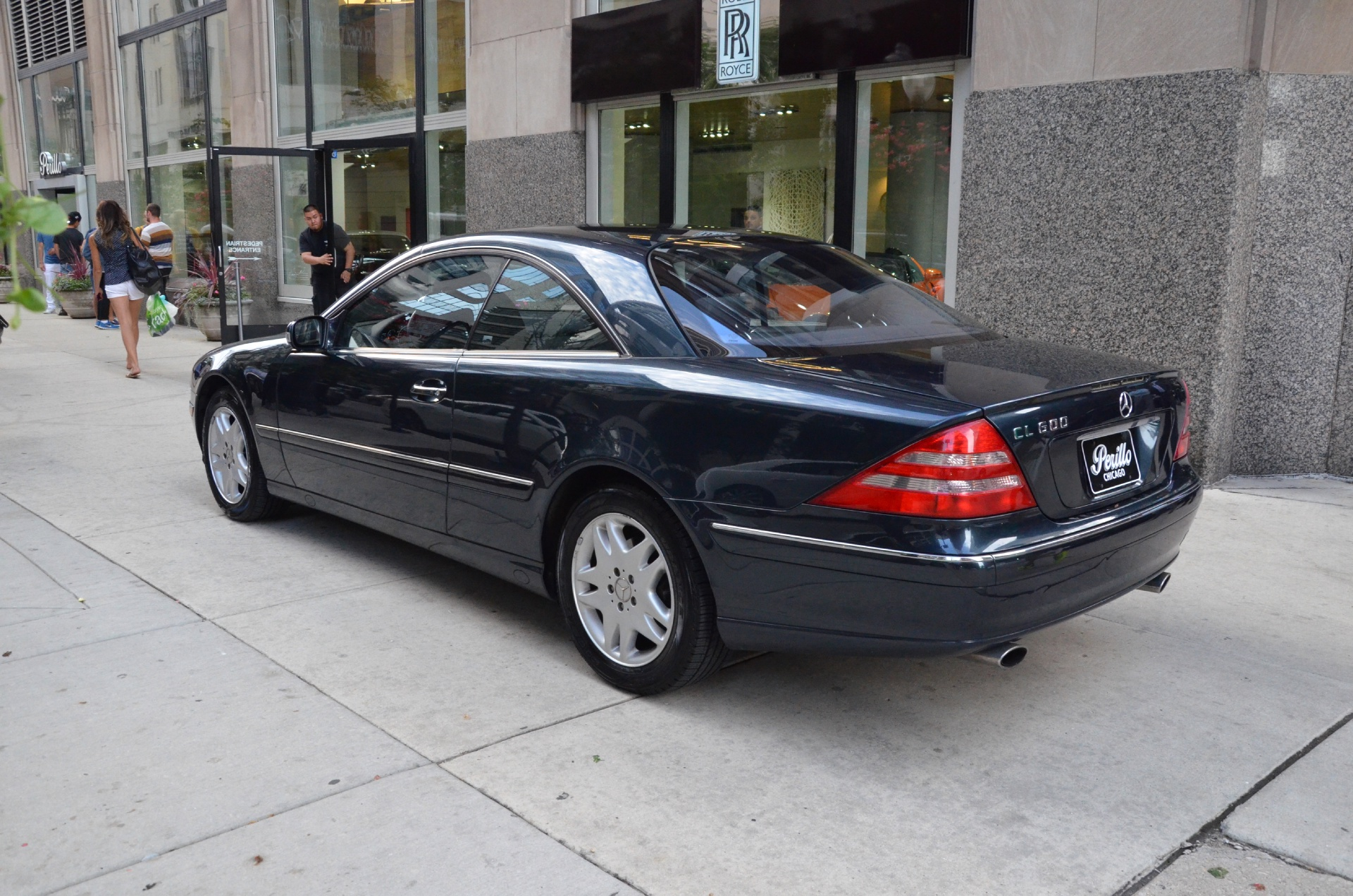 2002 mercedes benz cl class cl500 stock m368b for sale for Mercedes benz chicago dealers