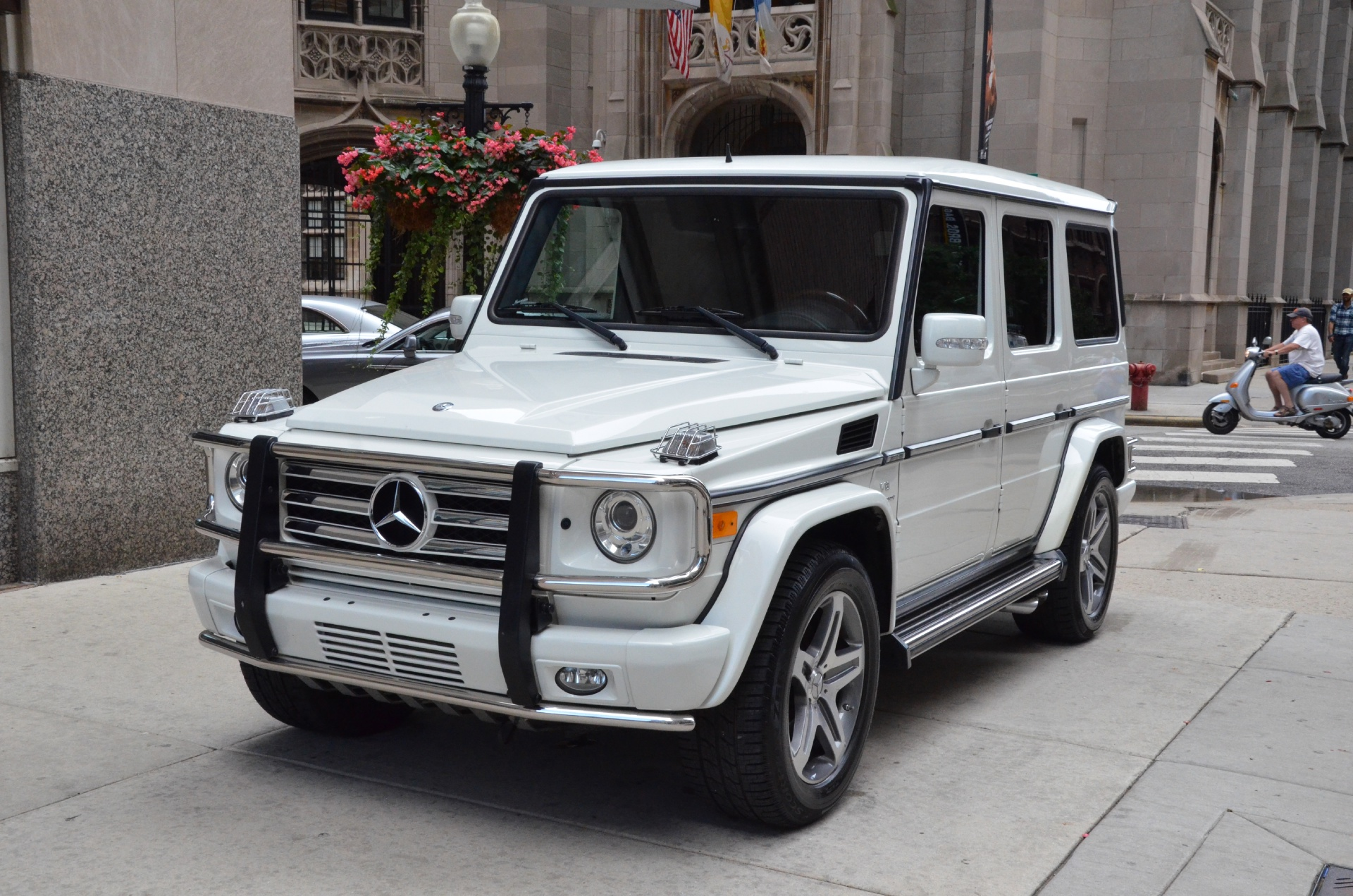 2009 mercedes benz g class g55 amg stock gc1461a for for Mercedes benz chicago dealers