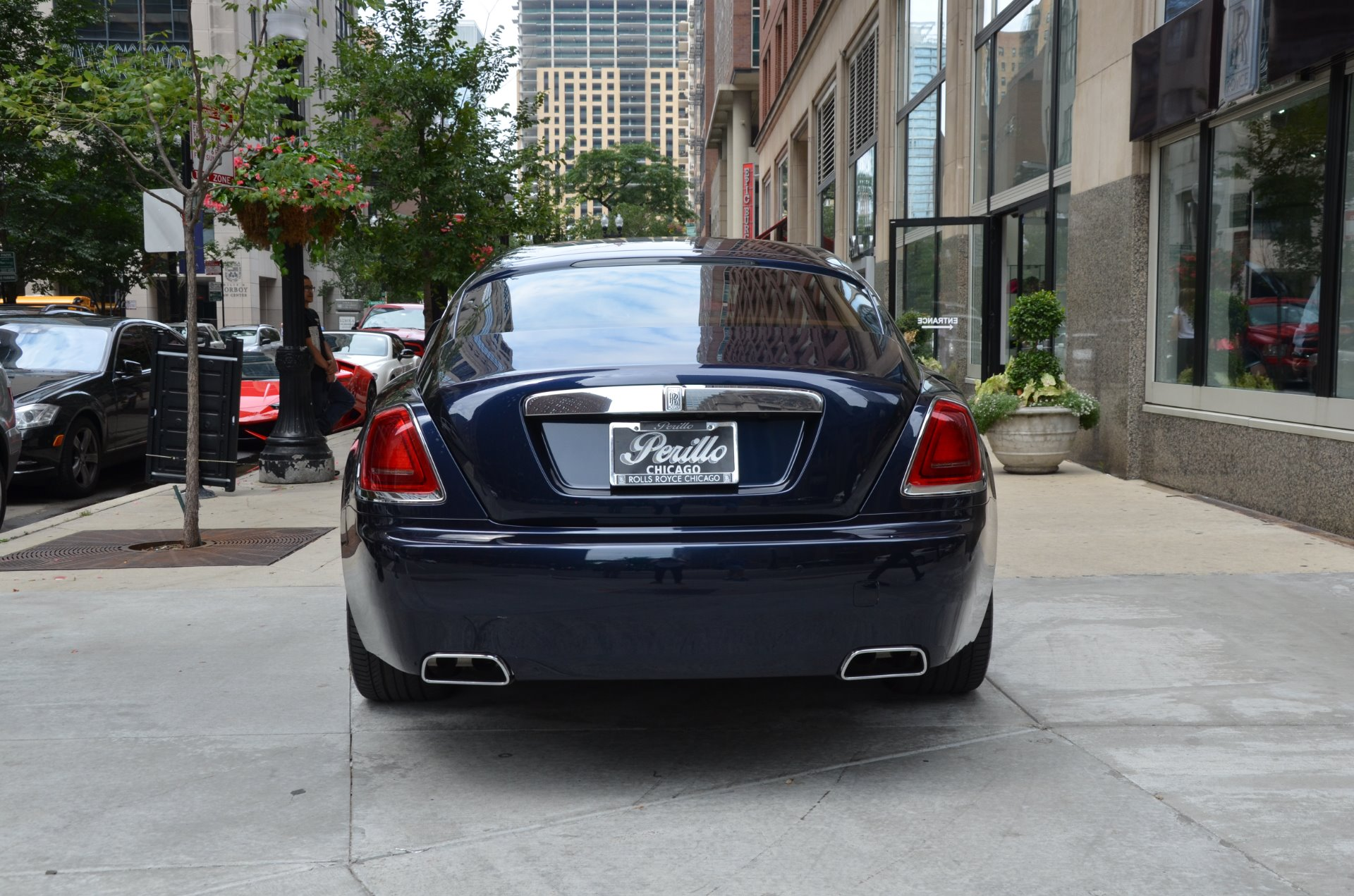 2014 rolls royce wraith stock r342a for sale near chicago il il rolls royce dealer. Black Bedroom Furniture Sets. Home Design Ideas