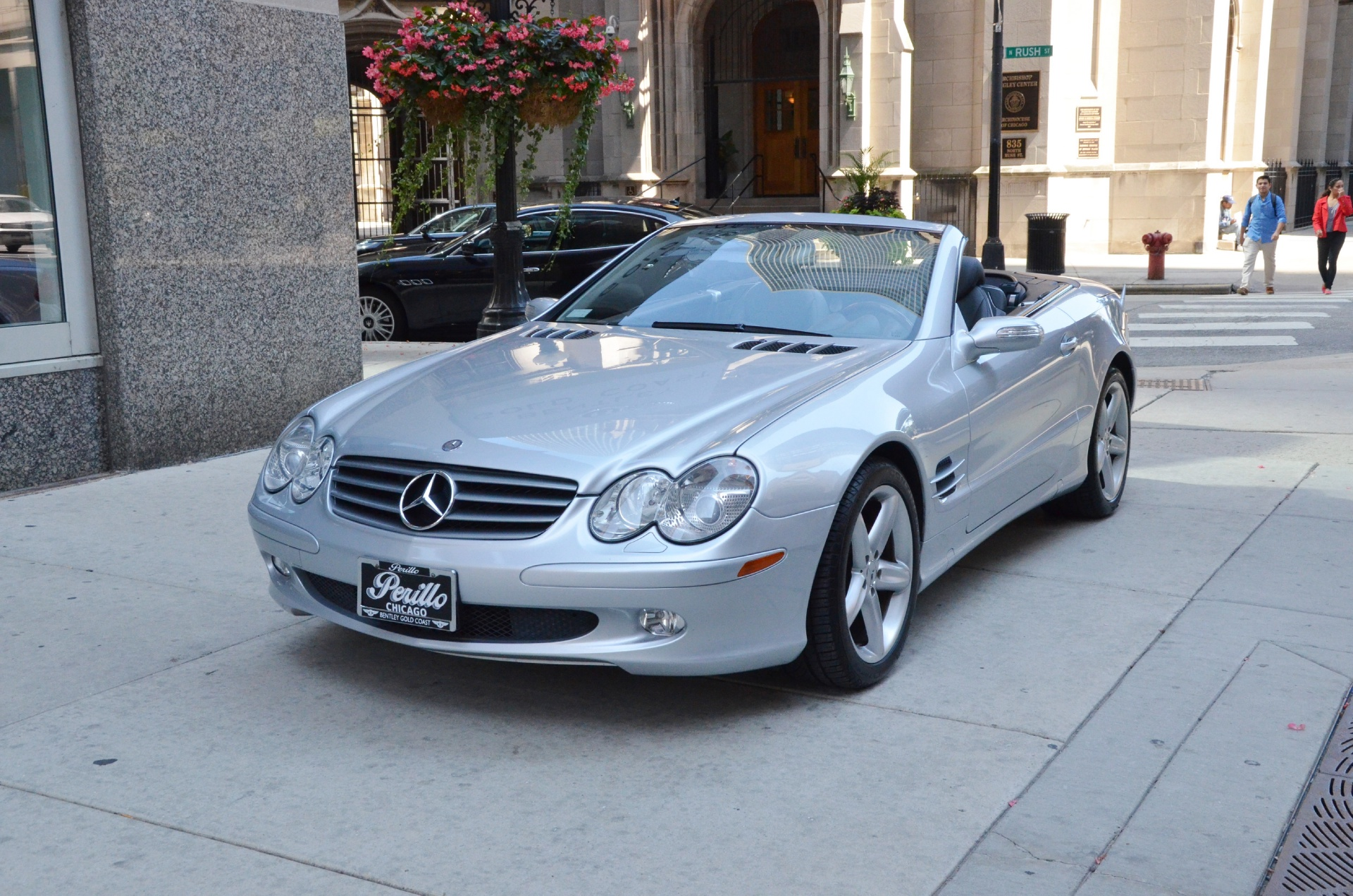 2006 mercedes benz sl class sl500 stock gc1303aa for for Mercedes benz chicago dealers