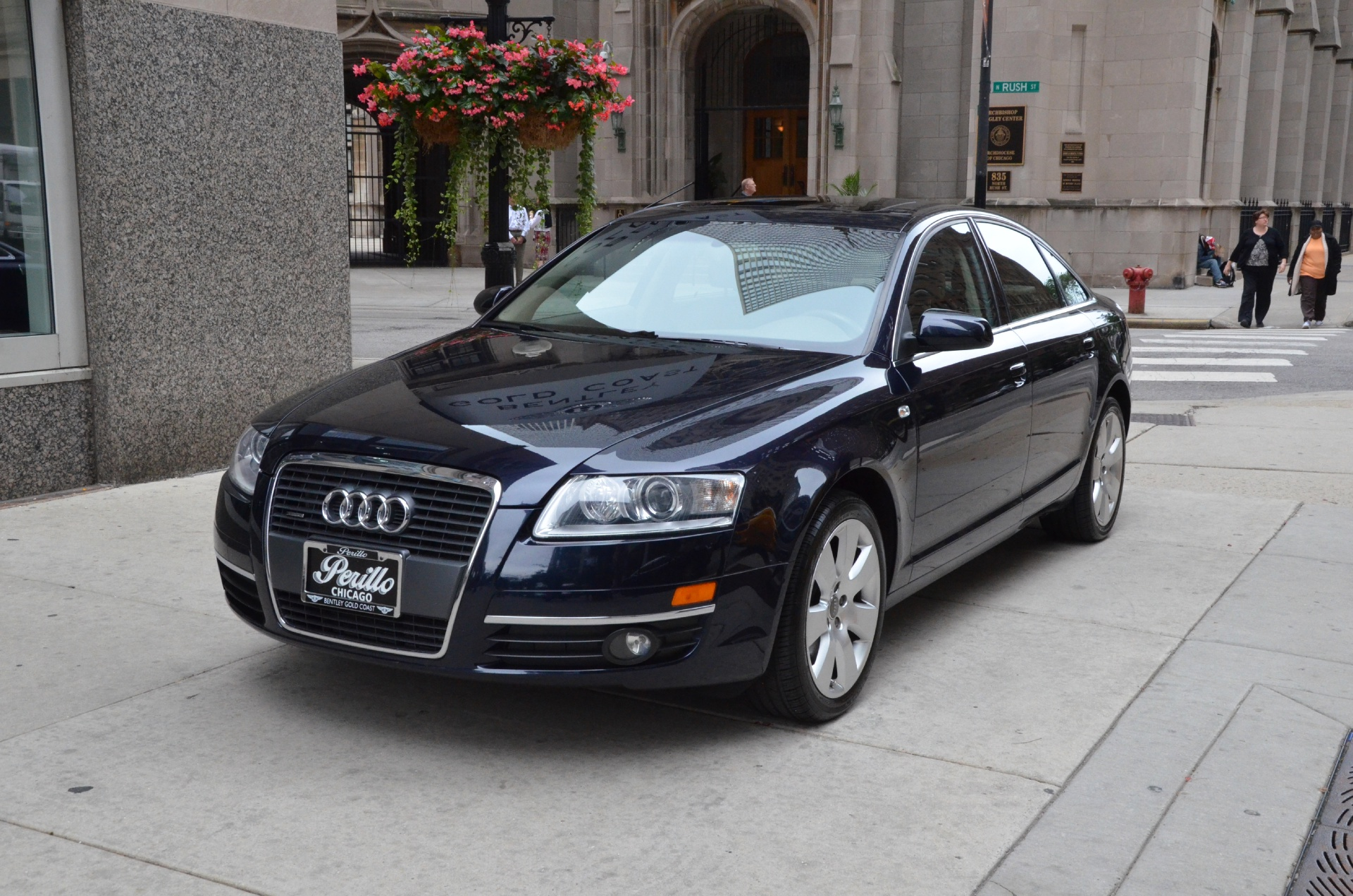 2006 audi a6 4 2 quattro stock m321a for sale near chicago il il audi dealer. Black Bedroom Furniture Sets. Home Design Ideas