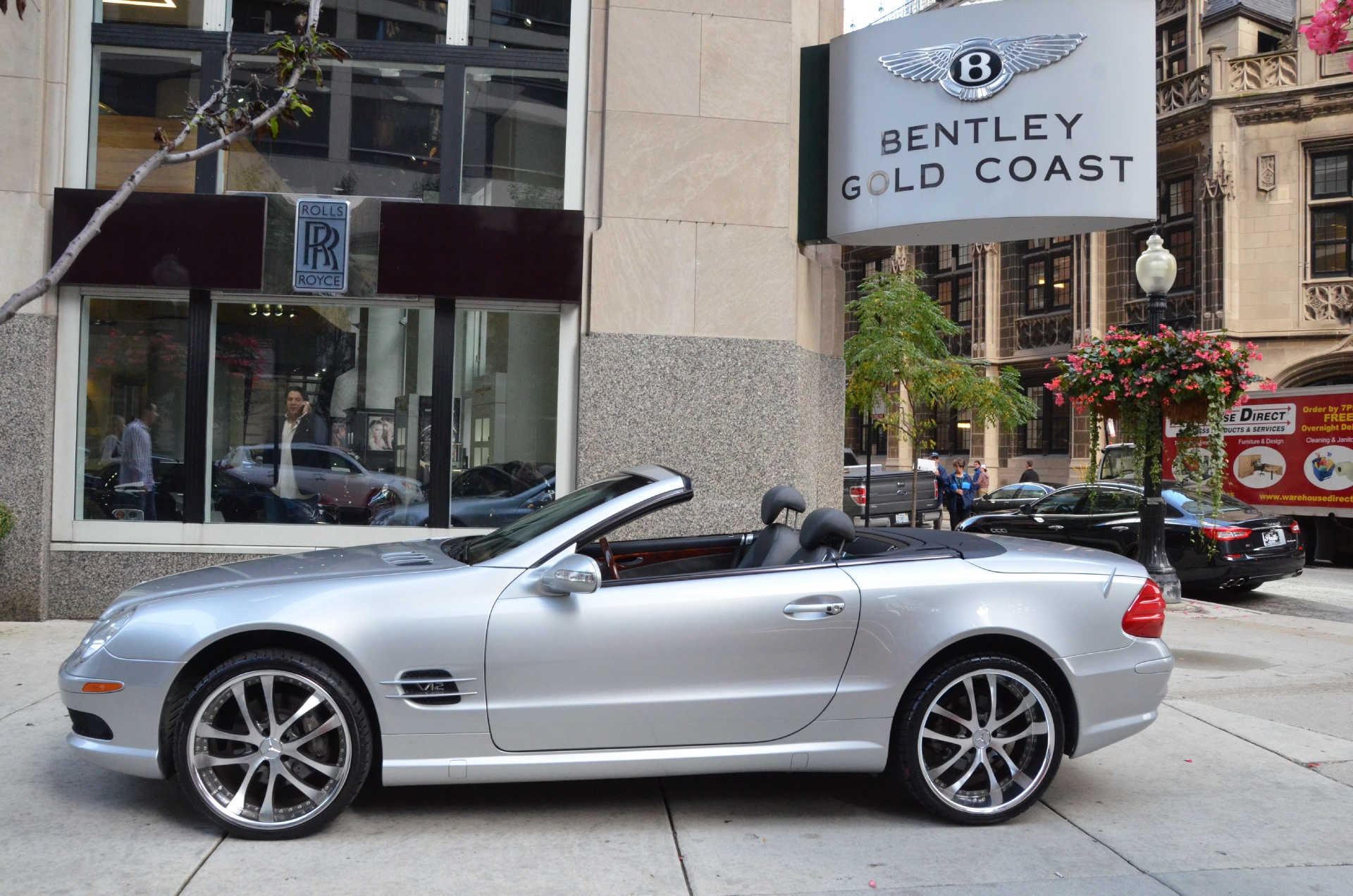 2003 mercedes benz sl class sl500 stock b469aa for sale for Mercedes benz chicago dealers