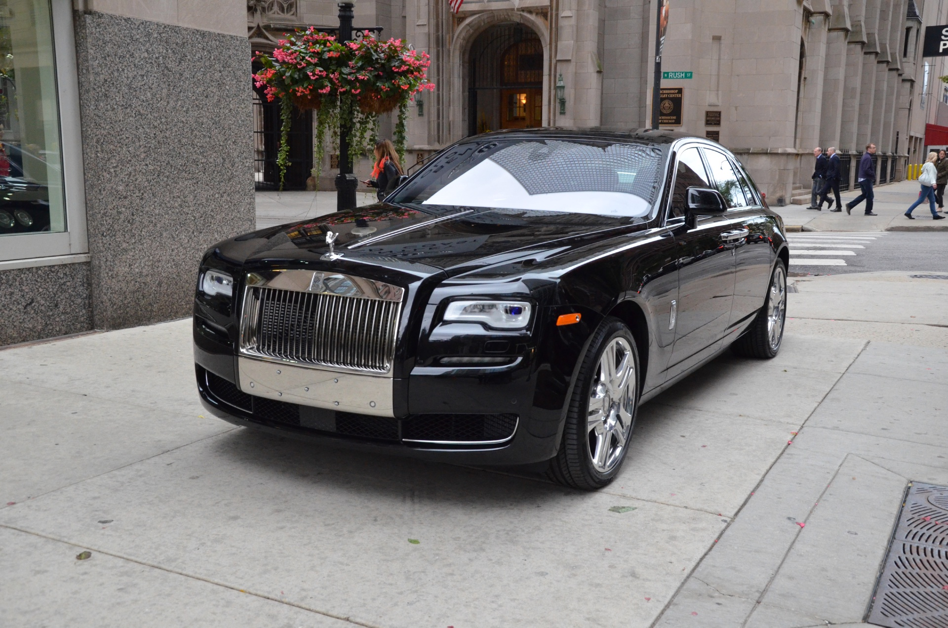 rolls royce ghost 2015 black. new 2015 rollsroyce ghost series ii chicago il rolls royce black bentley gold coast