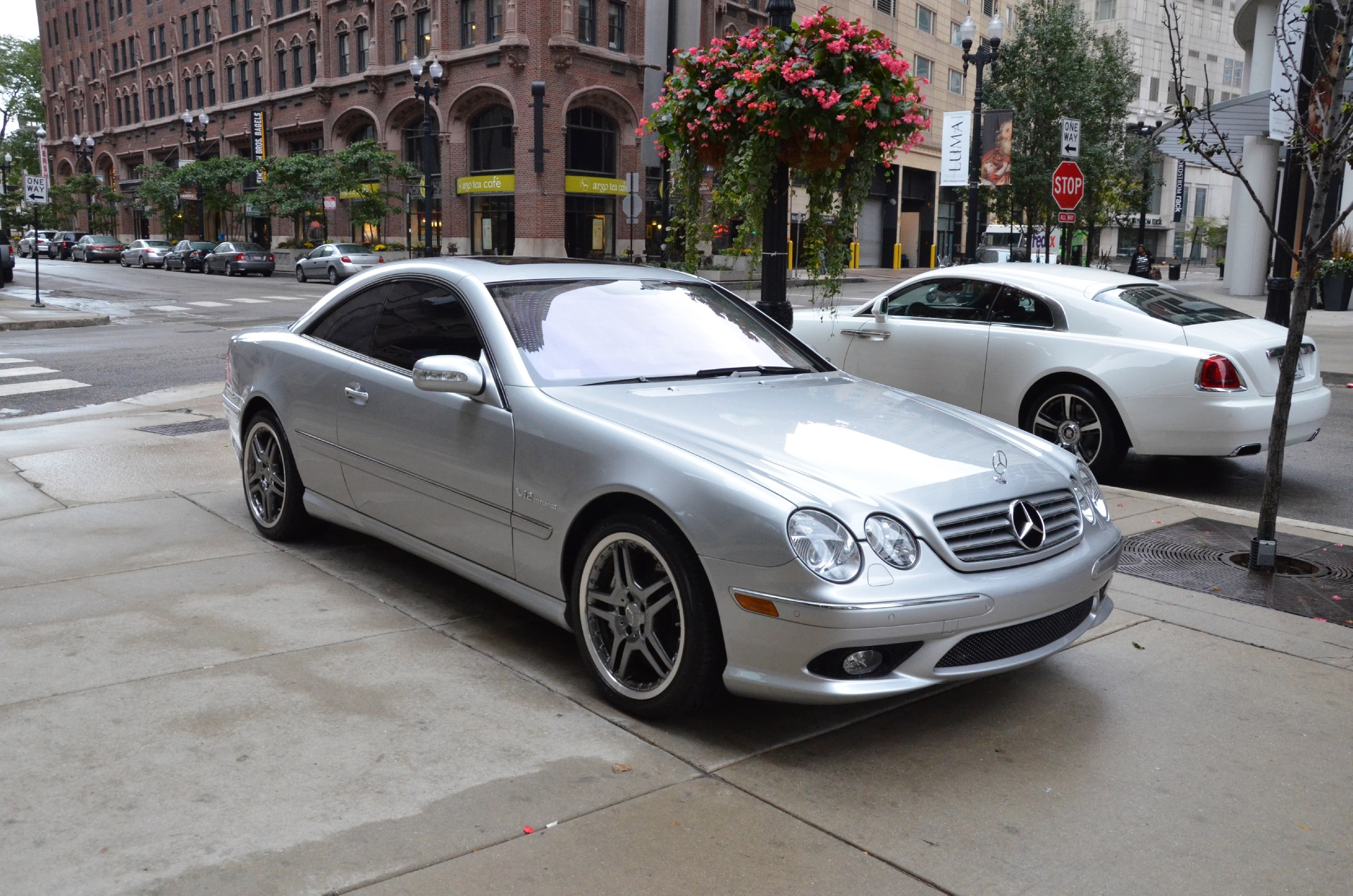 2005 mercedes benz cl class cl65 amg stock r132cb for for Mercedes benz chicago il