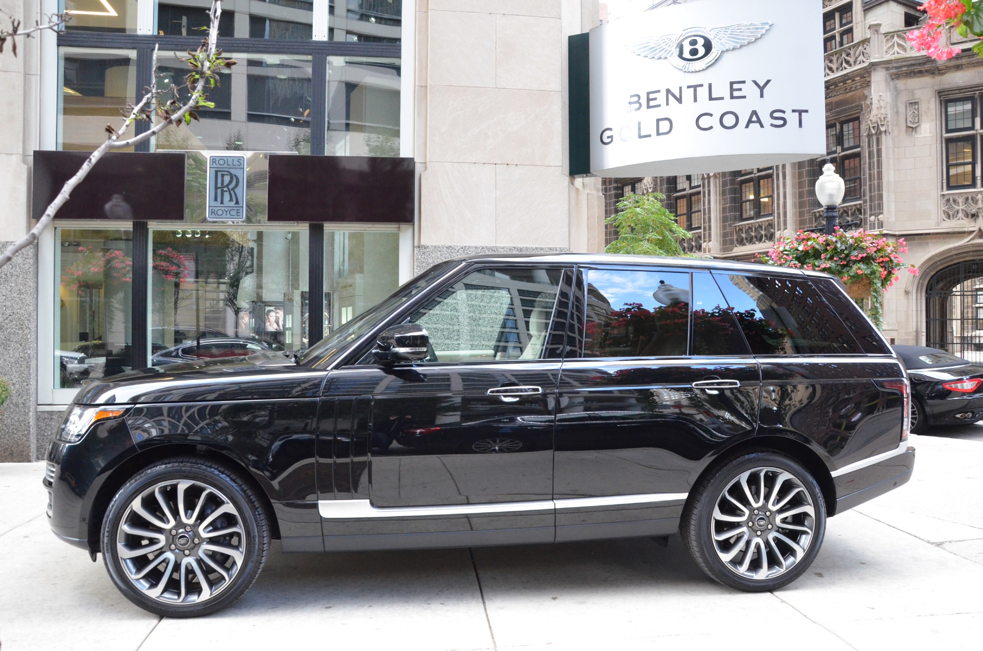 2014 land rover range rover autobiography stock gc1529 s for sale near chicago il il land. Black Bedroom Furniture Sets. Home Design Ideas