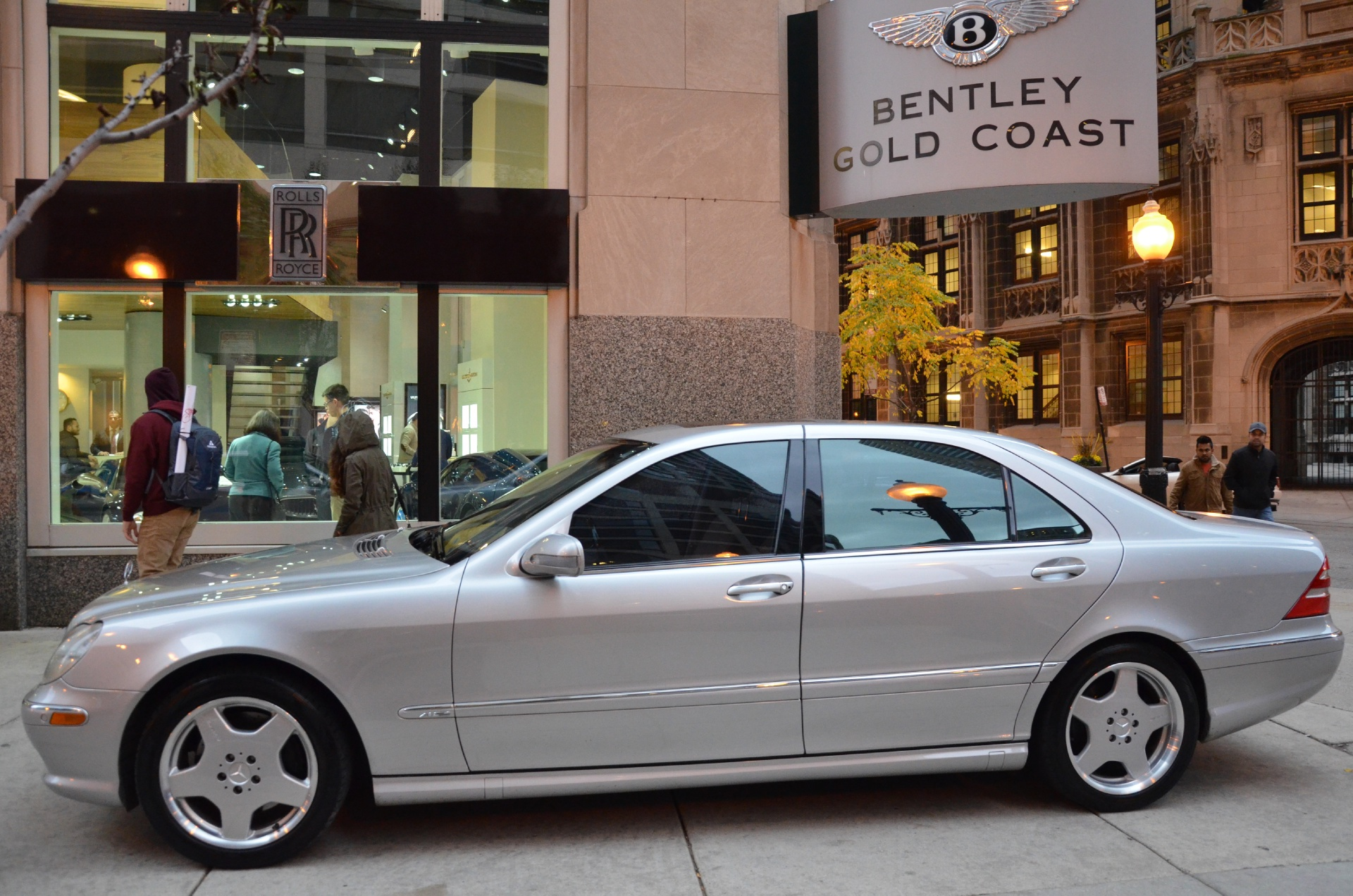 2001 mercedes benz s class s600 stock b643b for sale for Mercedes benz of chicago service center chicago il