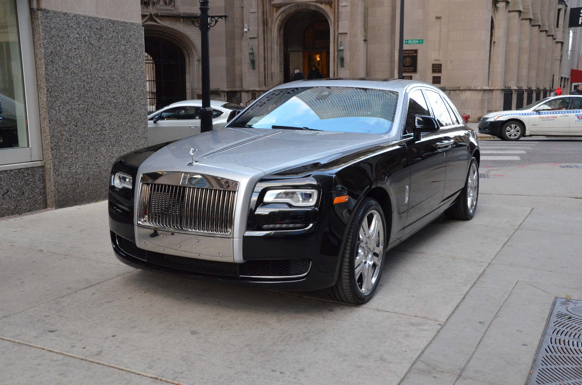 rolls royce ghost black 2015. new 2015 rollsroyce ghost series ii chicago il rolls royce black