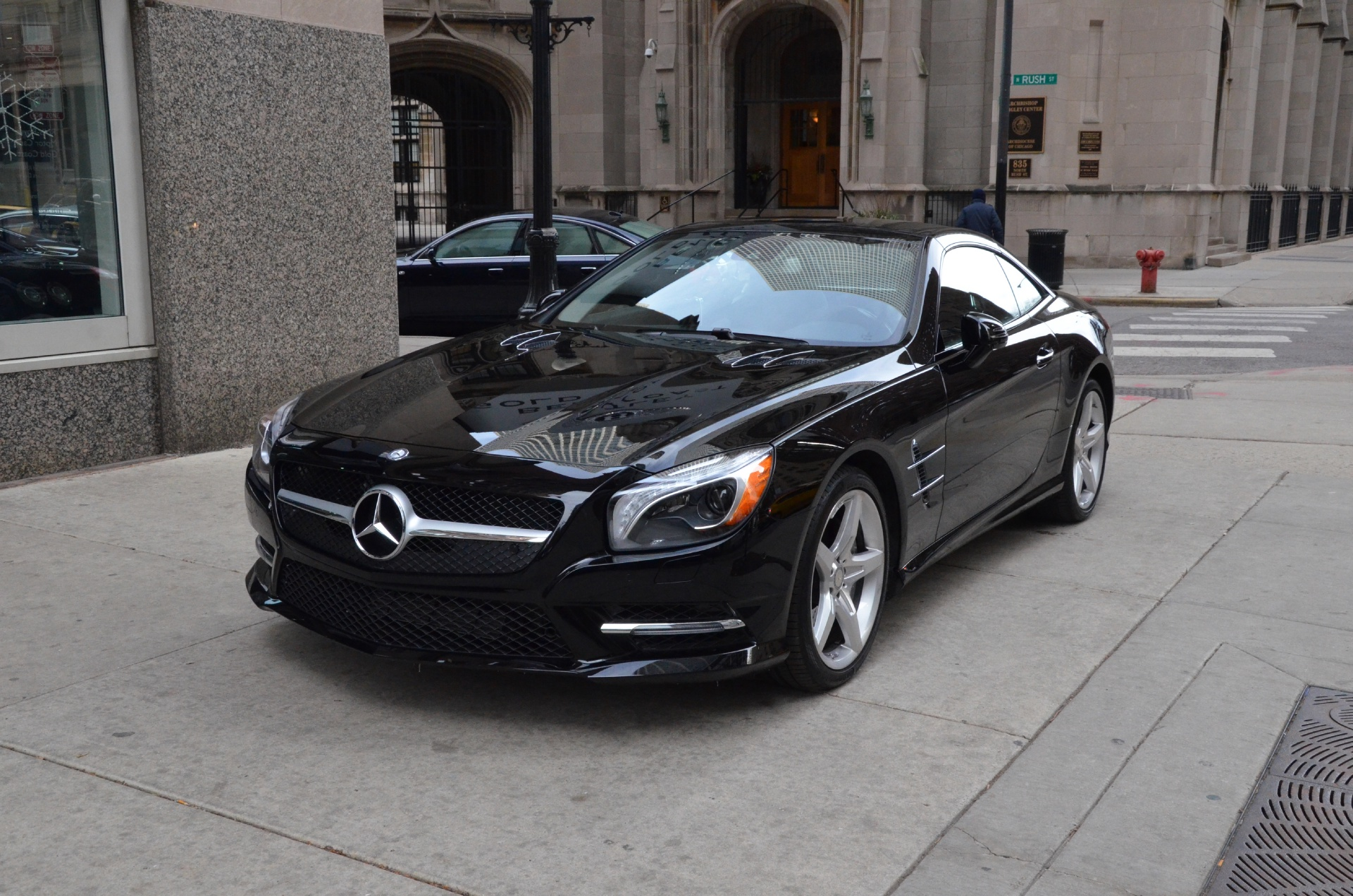 2014 mercedes benz sl class sl550 stock 22574 for sale near chicago il il mercedes benz dealer. Black Bedroom Furniture Sets. Home Design Ideas