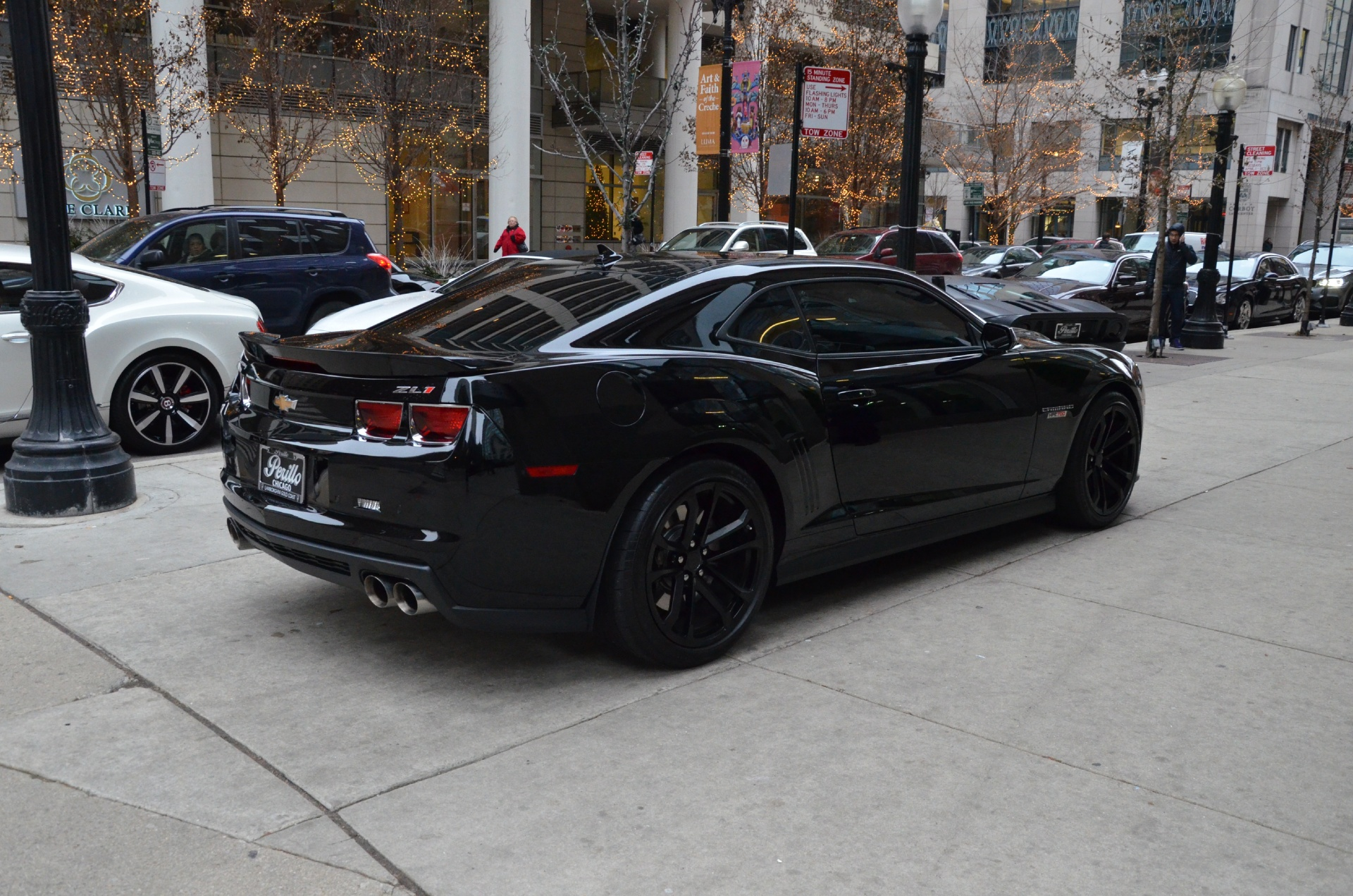 2013 chevrolet camaro zl1 stock l152c for sale near chicago il il chevrolet dealer. Black Bedroom Furniture Sets. Home Design Ideas