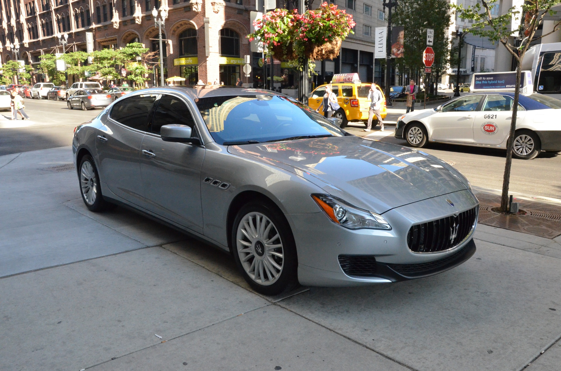 2014 maserati quattroporte gts sport gt s stock b604a for sale near chicago il il maserati. Black Bedroom Furniture Sets. Home Design Ideas