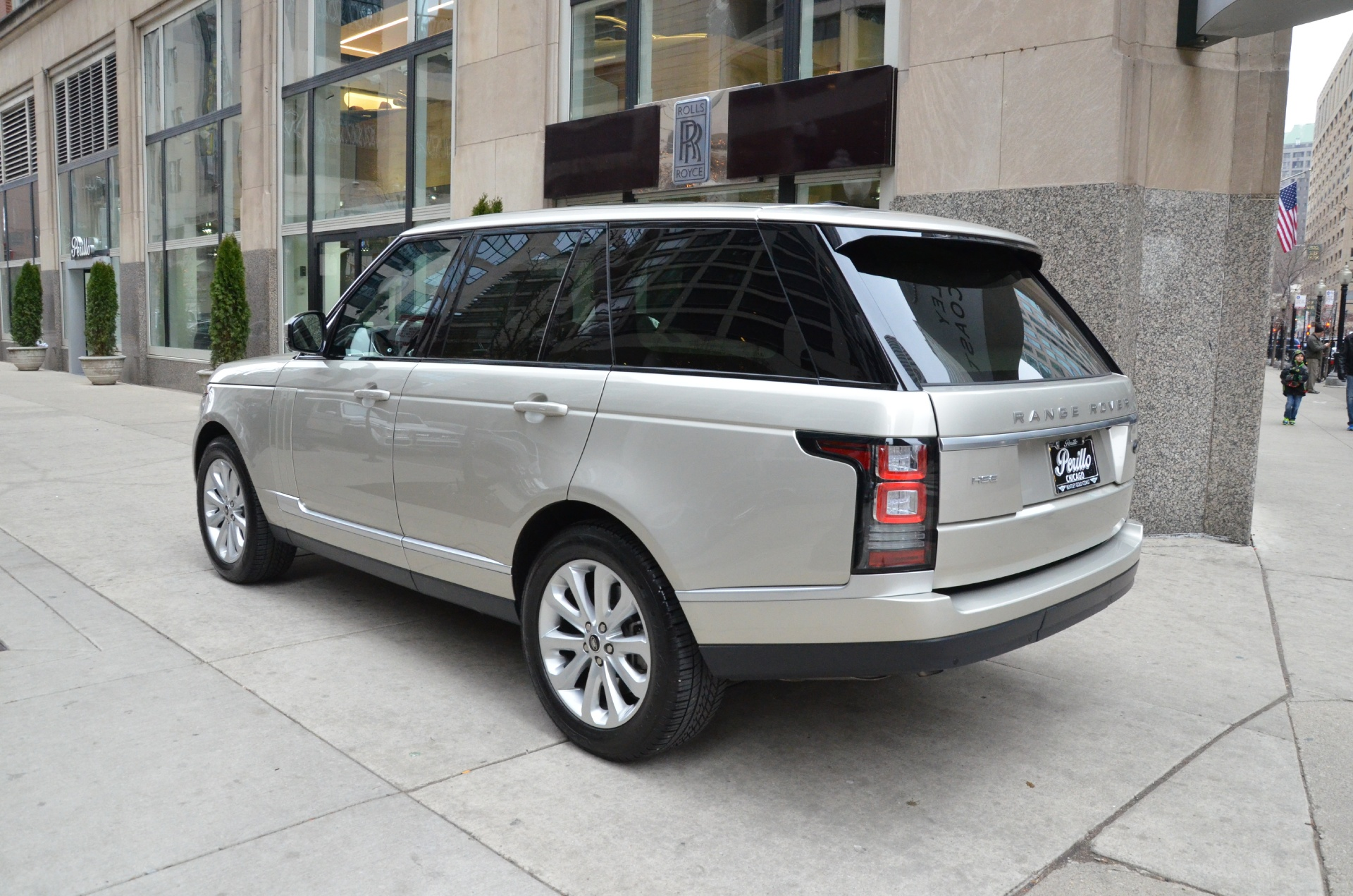 2013 land rover range rover hse stock 07704 for sale near chicago il il land rover dealer. Black Bedroom Furniture Sets. Home Design Ideas