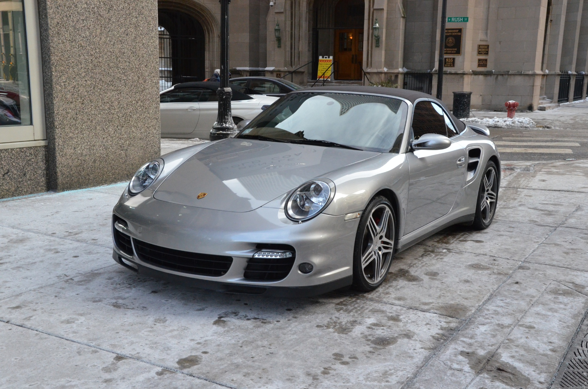 2008 porsche 911 turbo stock b439aa for sale near. Black Bedroom Furniture Sets. Home Design Ideas