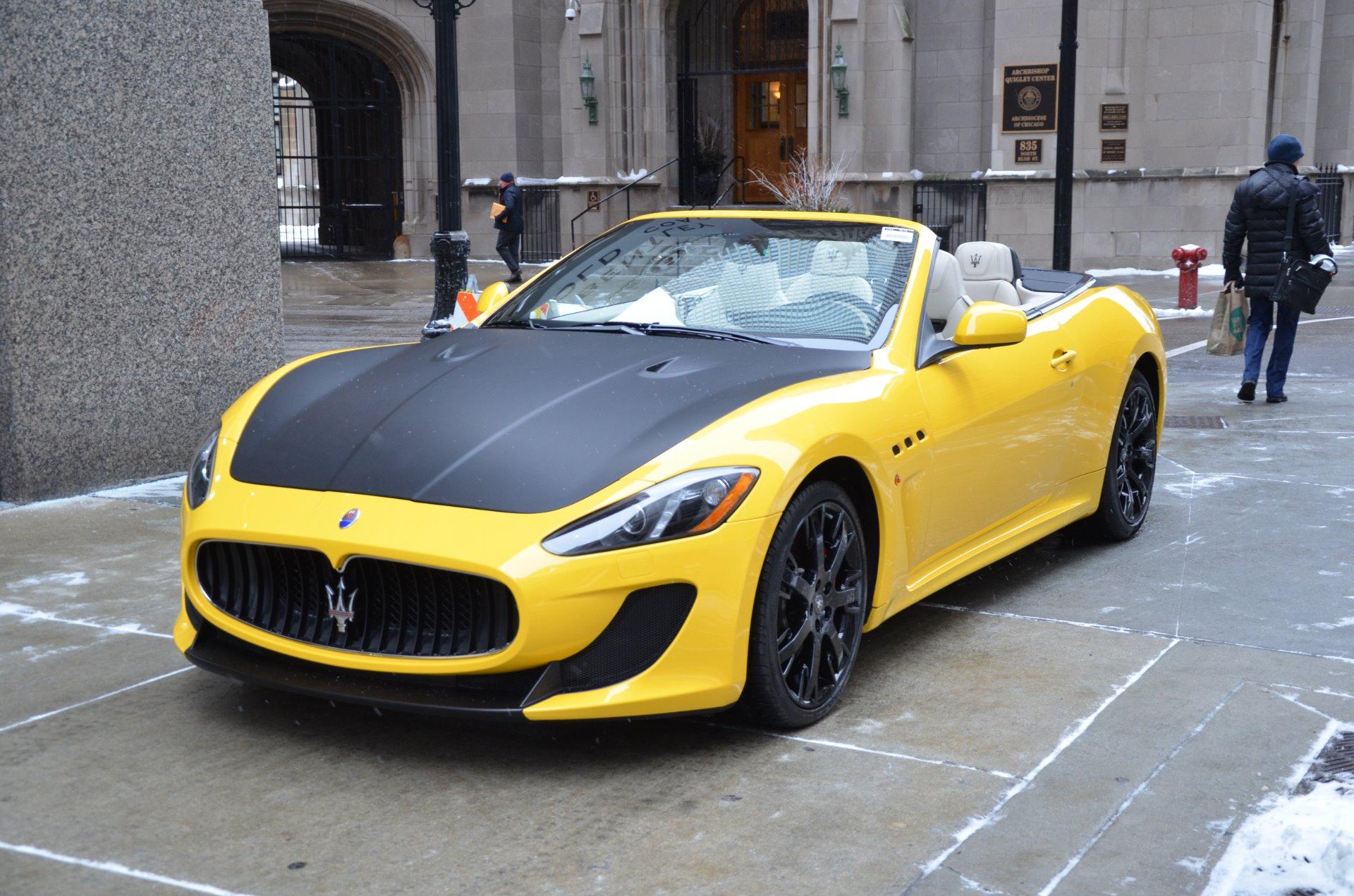 2015 Maserati GranTurismo MC Convertible MC Stock # M415 ...