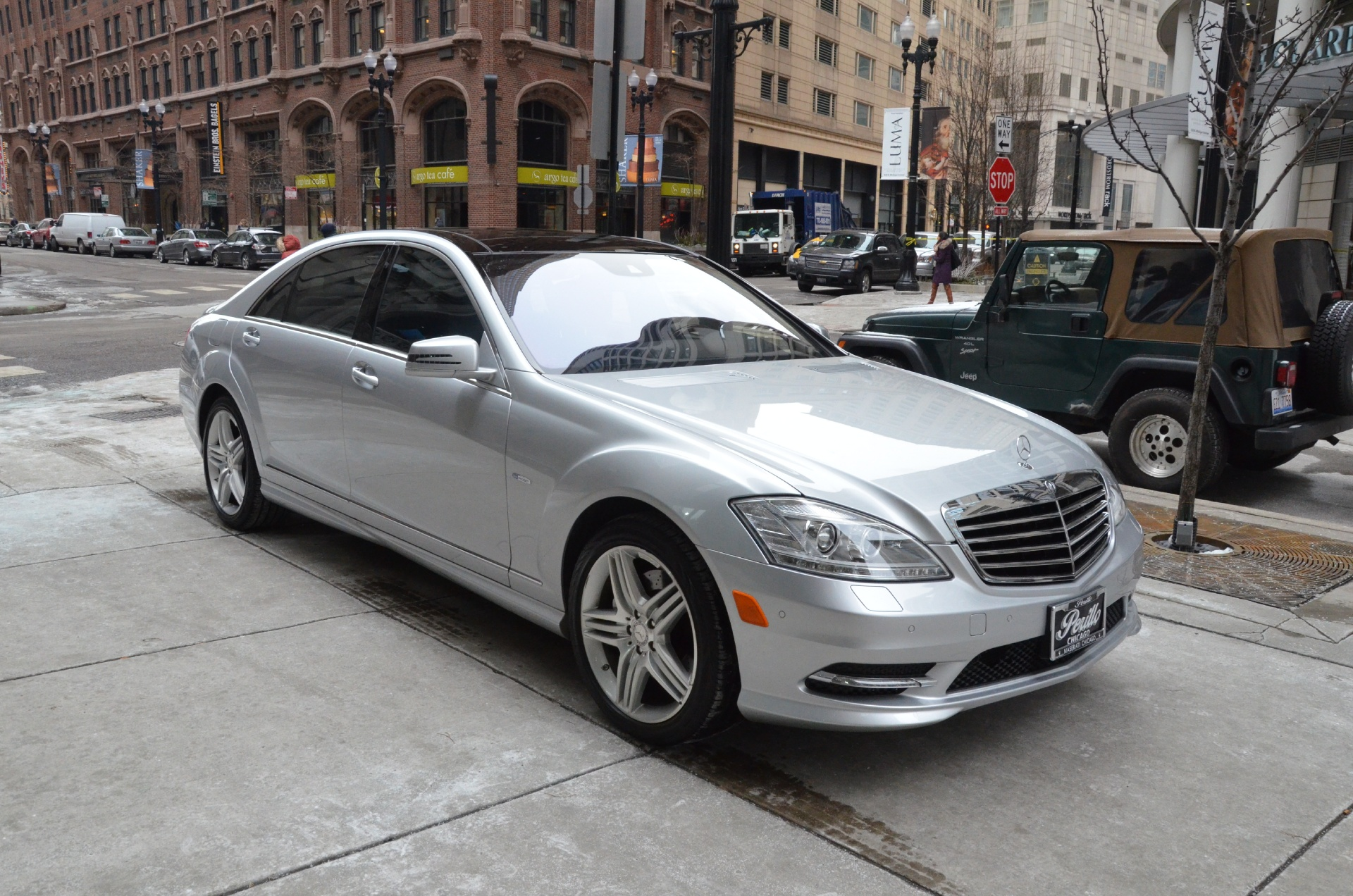 2012 mercedes benz s class s550 4matic stock m392a for sale near chicago il il mercedes. Black Bedroom Furniture Sets. Home Design Ideas