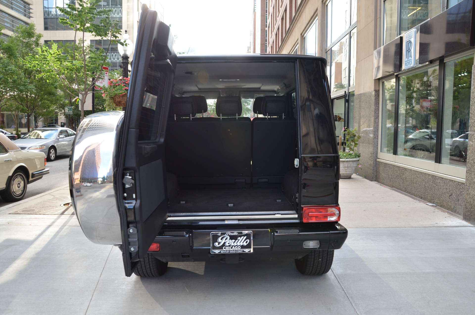 2014 mercedes benz g class g550 stock gc1617 for sale for Mercedes benz dealers in illinois