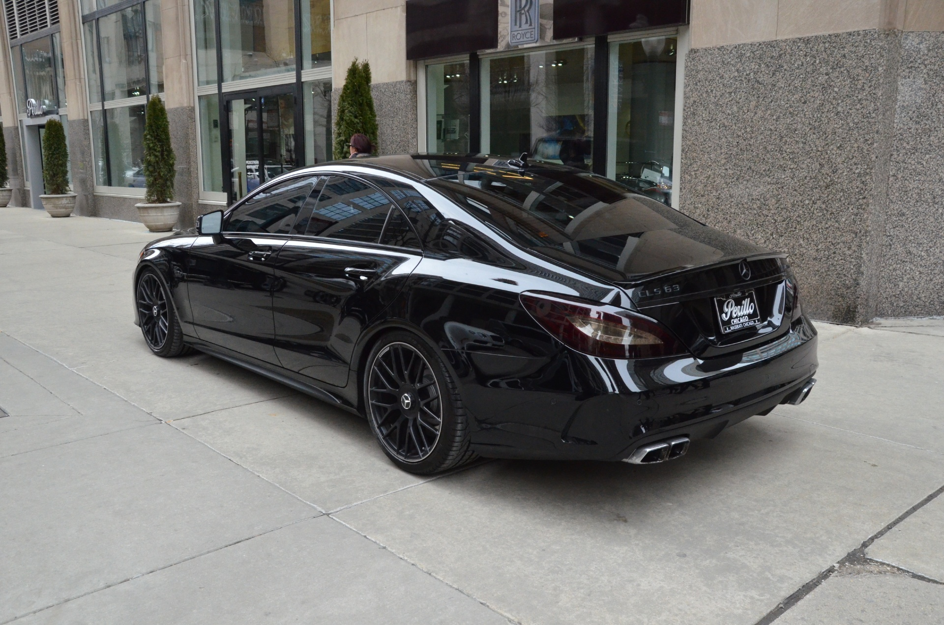 2015 Mercedes Benz Cls Class Cls63 Amg S Model Stock