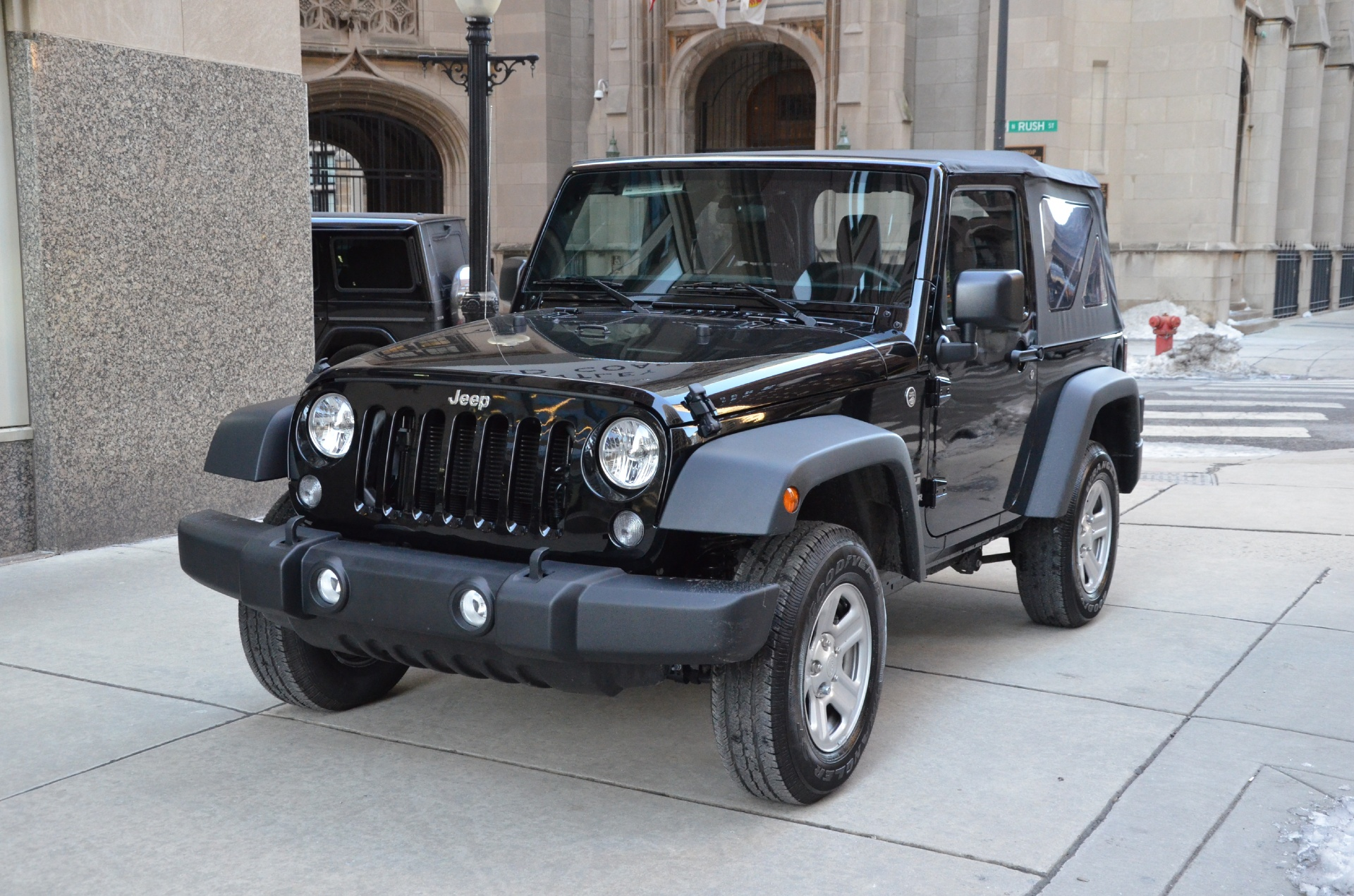 2015 jeep wrangler sport stock 04503 for sale near chicago il il jeep dealer. Black Bedroom Furniture Sets. Home Design Ideas