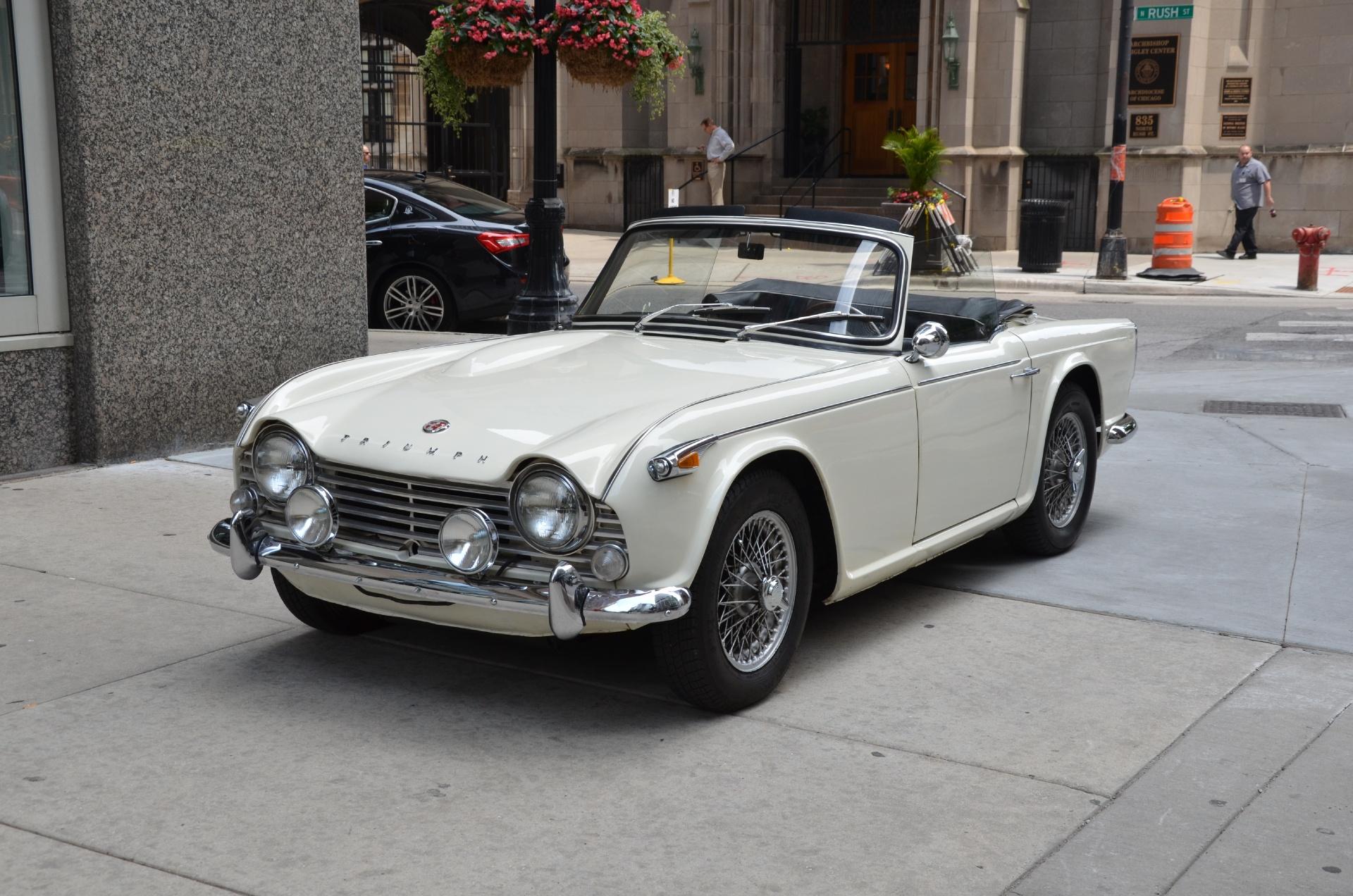 1966 Triumph Tr4a Irs Stock 458gt For Sale Near Chicago Il Il