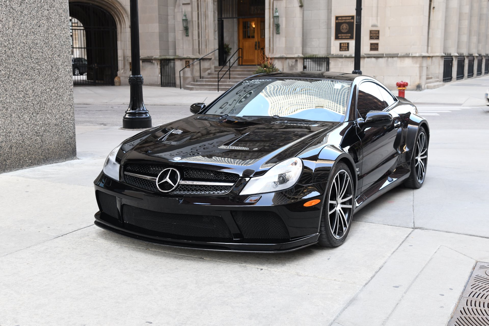 2009 mercedes benz sl class sl65 amg black series stock for Mercedes benz 2009 for sale