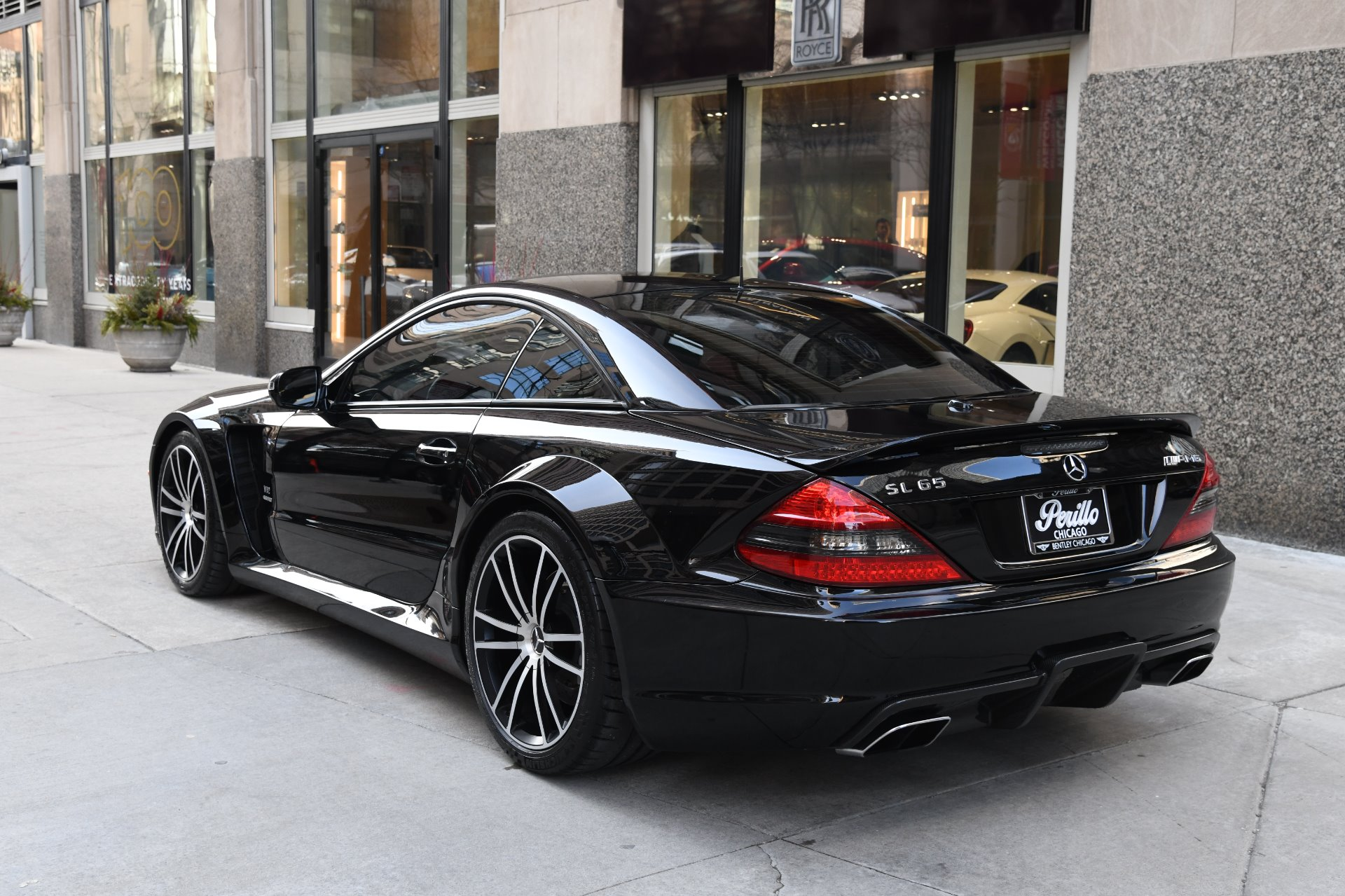 2009 Mercedes Benz Sl Class Sl65 Amg Black Series Stock