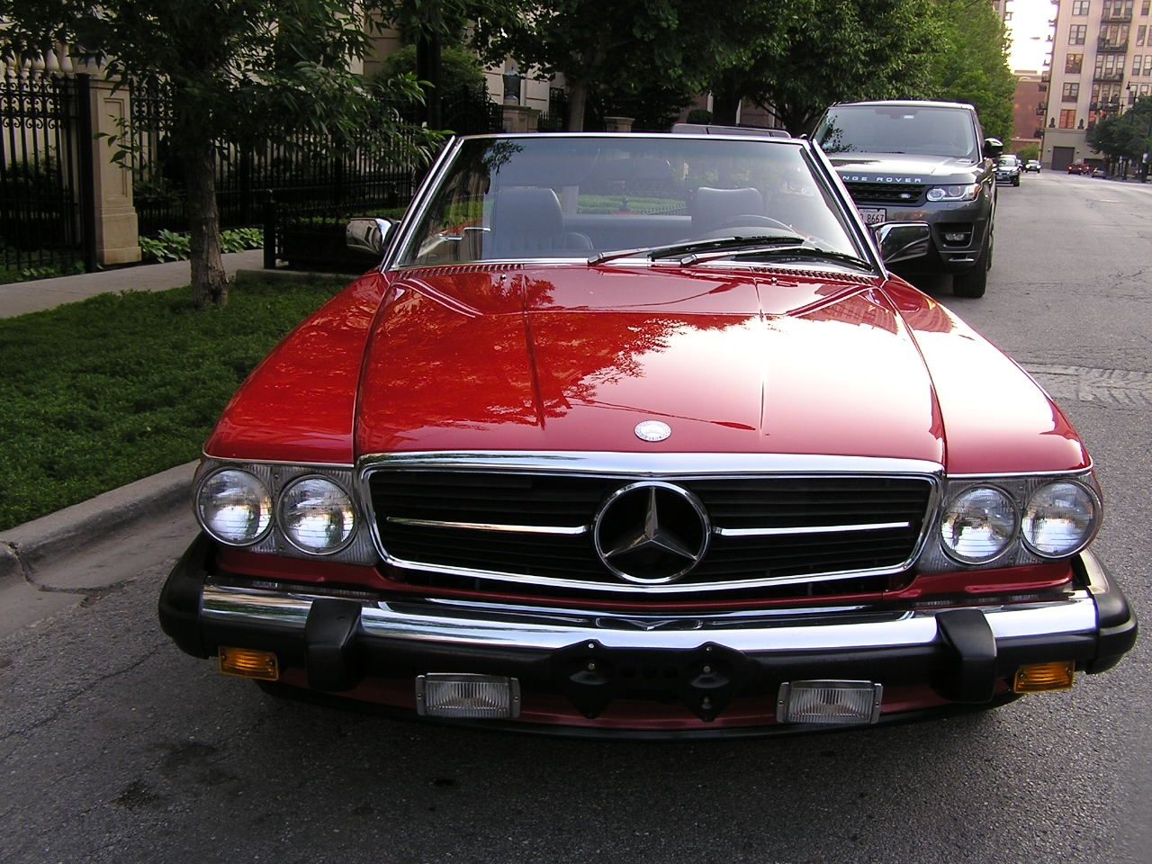 1987 mercedes benz 560 sl stock 74190 for sale near for Mercedes benz nearby