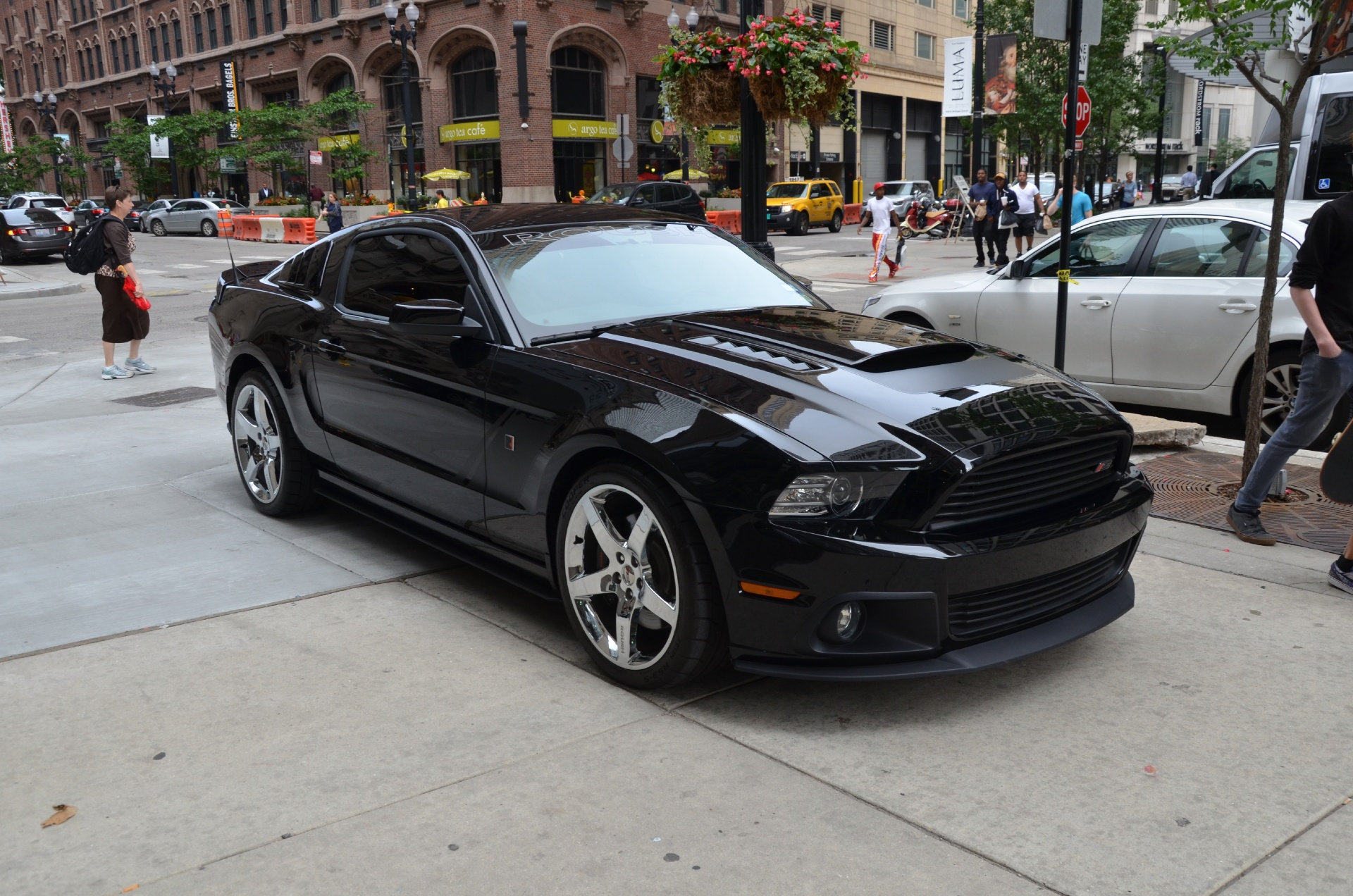 2014 ford mustang roush supercharged phase 3 alluminator. Black Bedroom Furniture Sets. Home Design Ideas