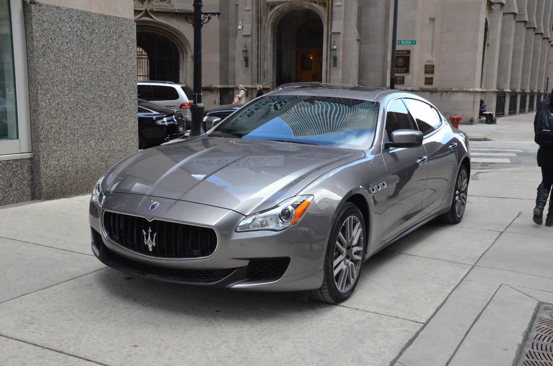 Gold Coast Bentley >> 2015 Maserati Quattroporte SQ4 S Q4 Stock # M424-S for sale near Chicago, IL   IL Maserati Dealer