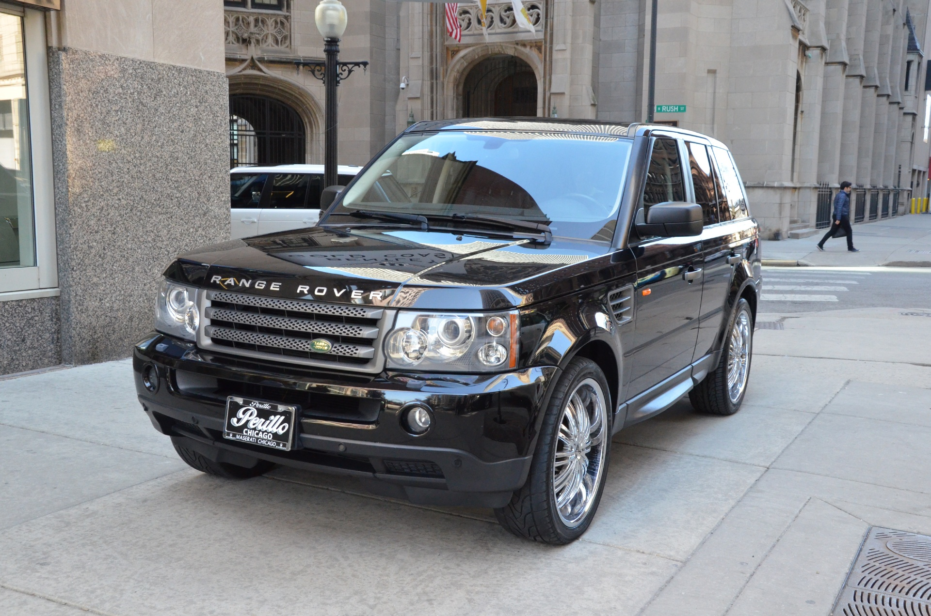 2008 land rover range rover sport hse stock gc1142cc for sale near chicago il il land rover. Black Bedroom Furniture Sets. Home Design Ideas