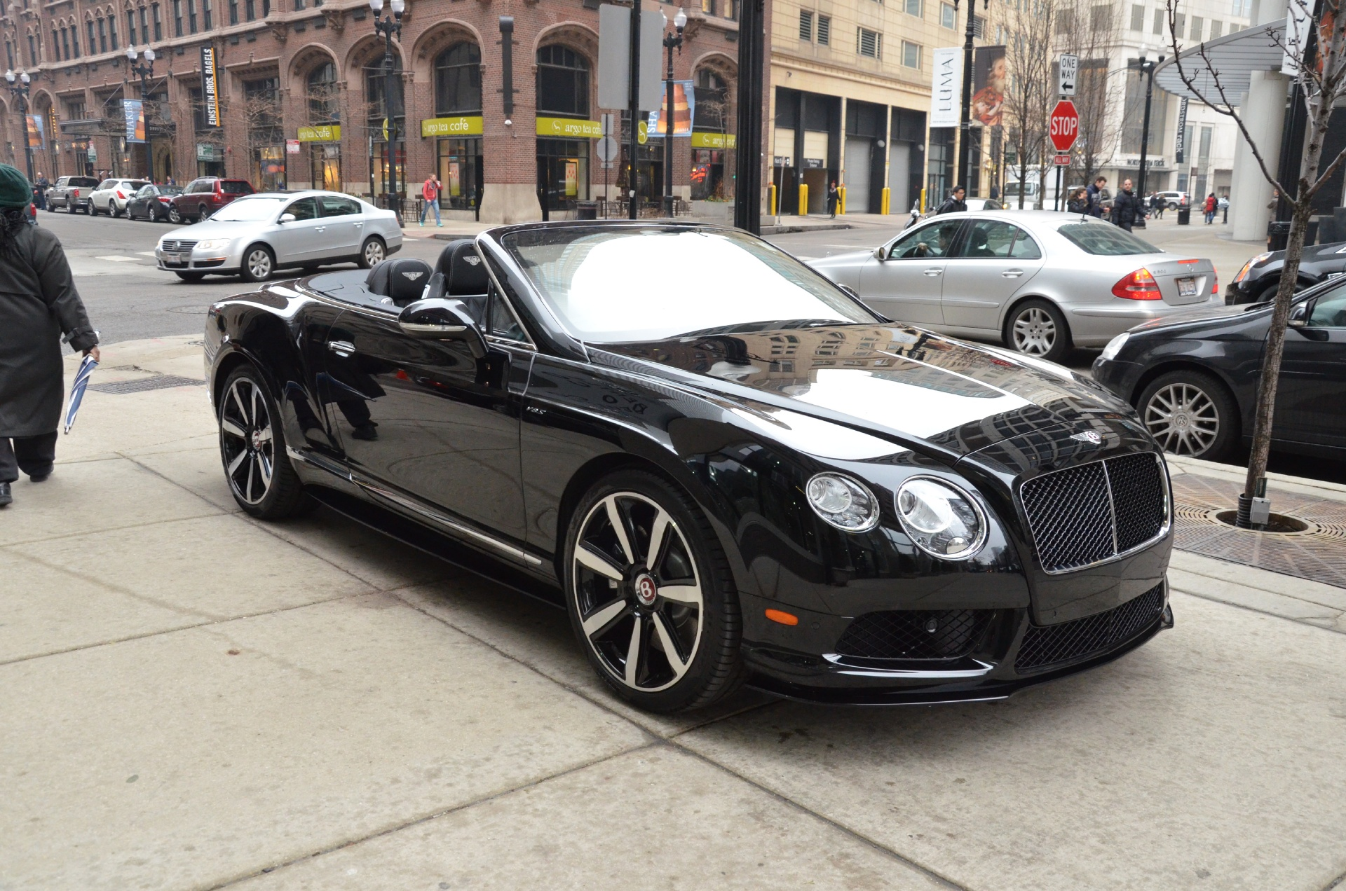 2015 Bentley Continental GTC V8 S Stock B693 for sale near Chicago