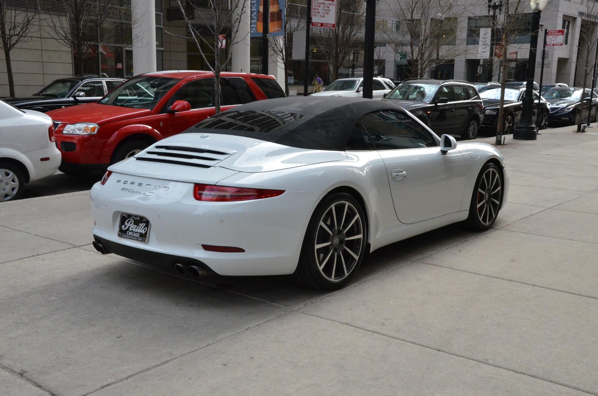 2014 porsche 911 carrera s stock gc1651 for sale near chicago il il porsche dealer. Black Bedroom Furniture Sets. Home Design Ideas