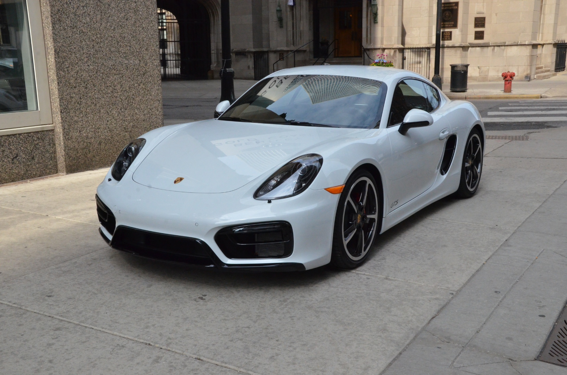 2015 porsche cayman gts stock gc1661a for sale near chicago il il porsche dealer. Black Bedroom Furniture Sets. Home Design Ideas