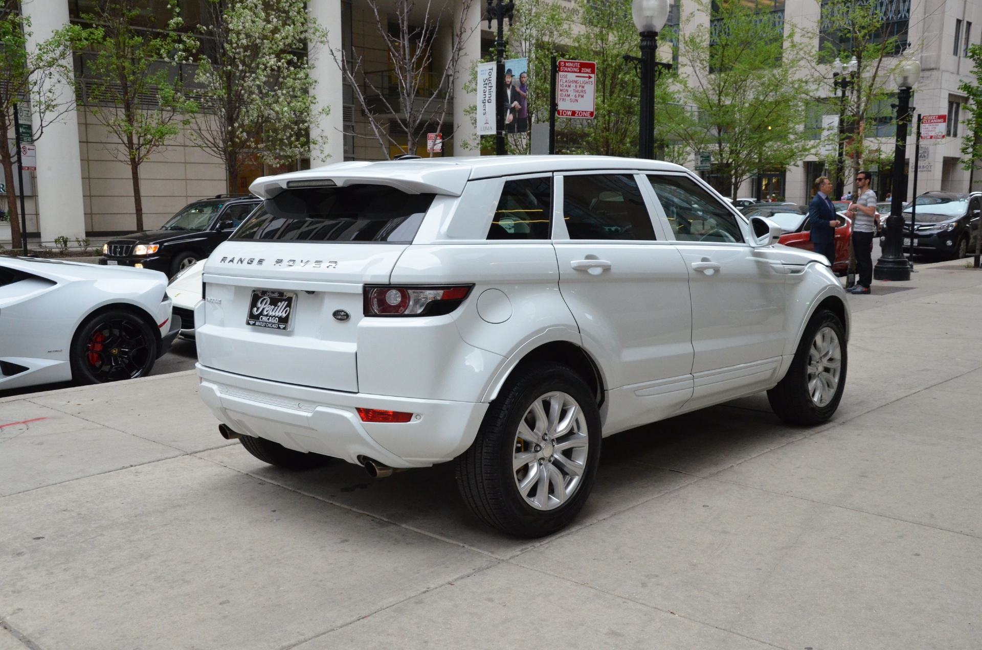 youtube white evoque lux watch landrover land range dynamic rover