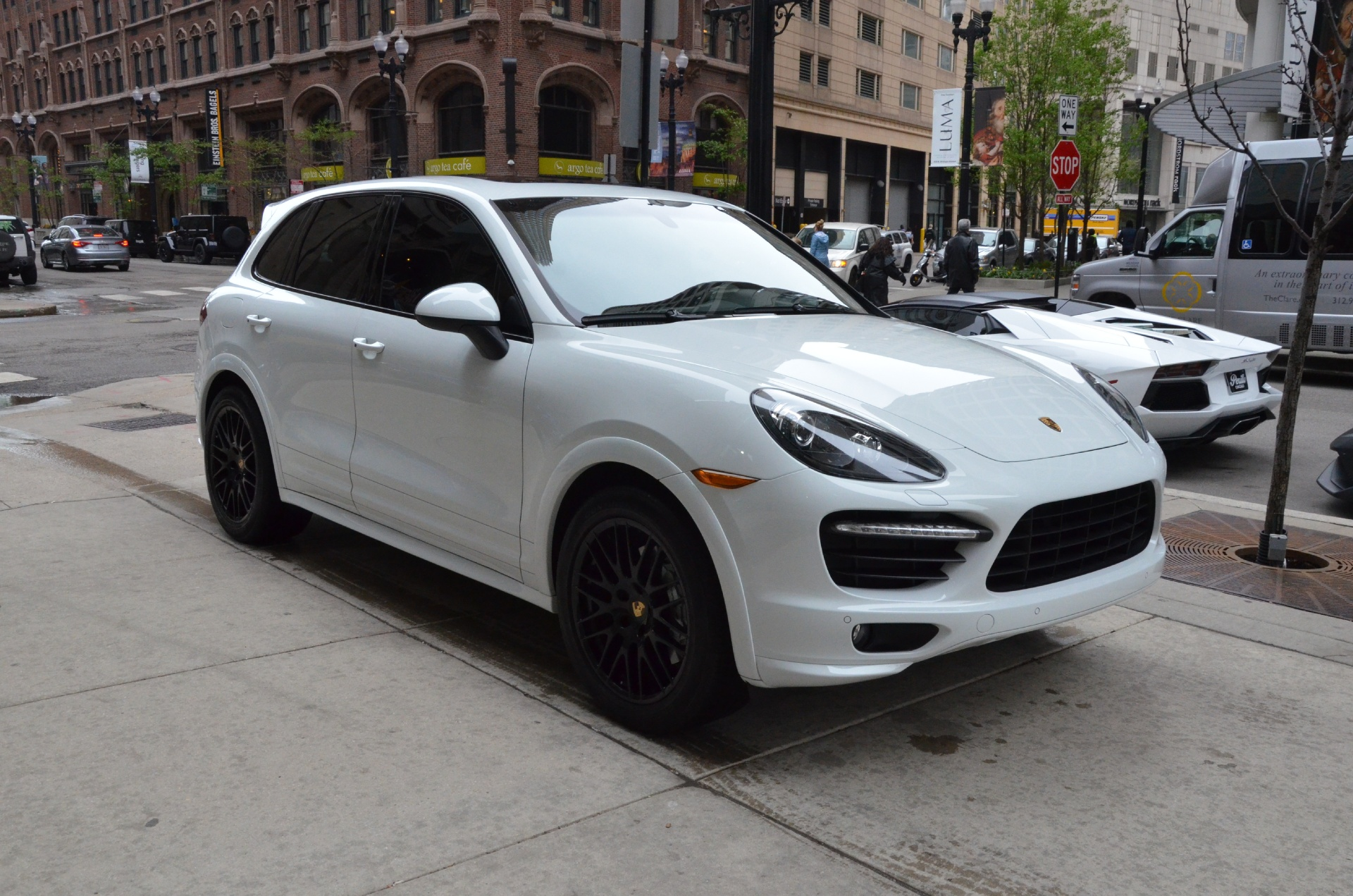 2014 porsche cayenne gts stock gc1661b for sale near chicago il il porsche dealer. Black Bedroom Furniture Sets. Home Design Ideas