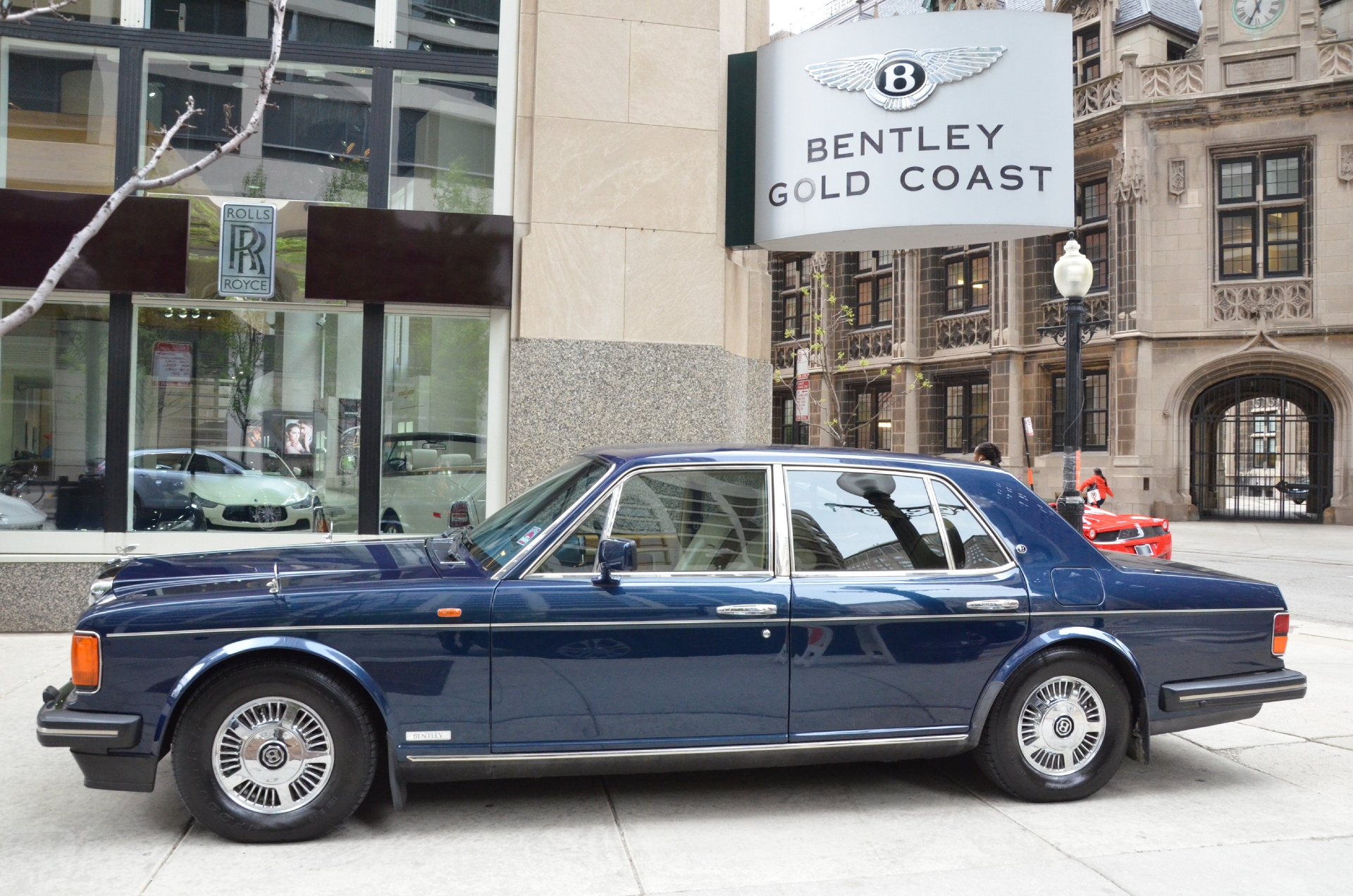 Used 1991 bentley mulsanne s chicago il
