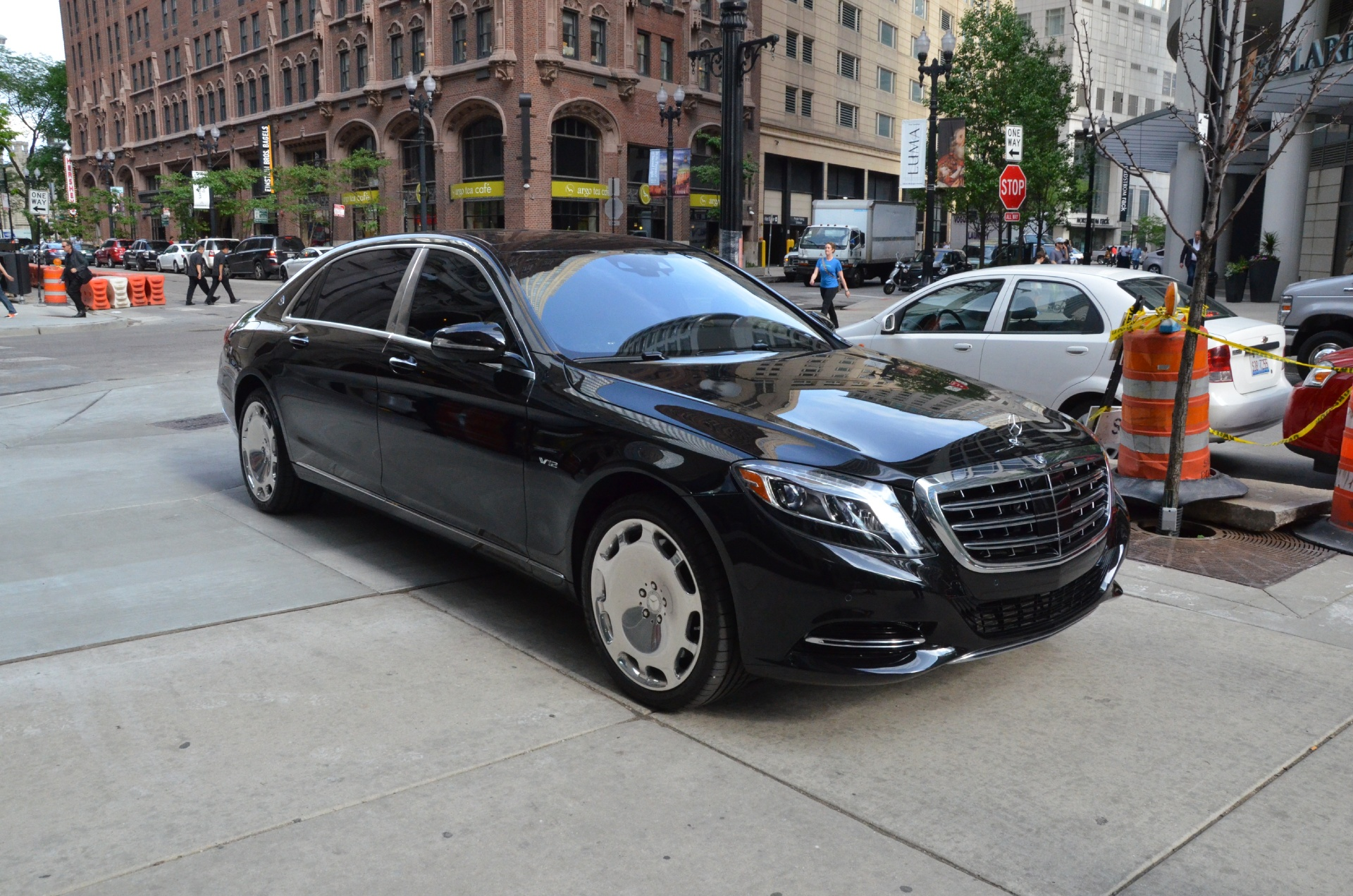 Used 2016 Mercedes Benz S Cl Maybach S600 Chicago Il