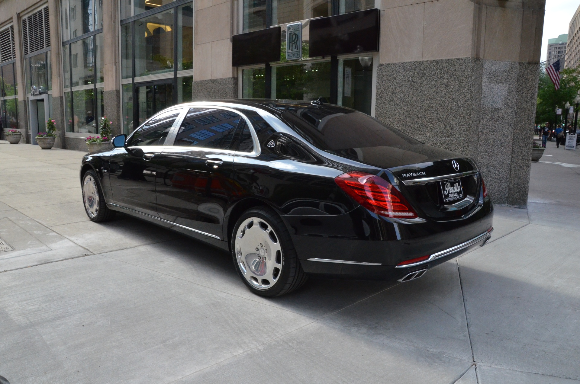 2016 mercedes benz s class mercedes maybach s600 stock for Mercedes benz chicago dealers