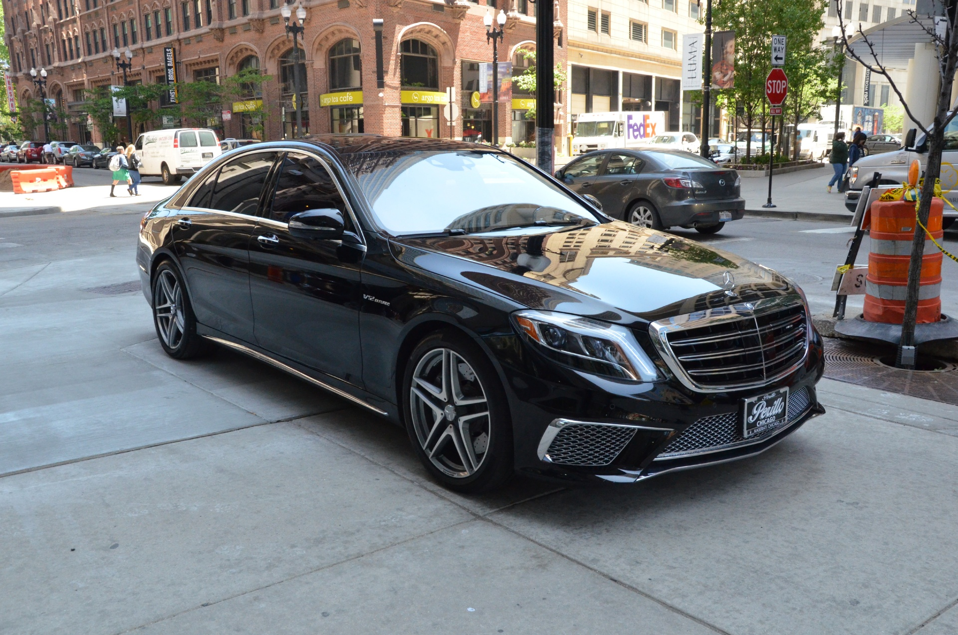 2015 mercedes benz s class s65 amg stock gc1694 for sale for Mercedes benz dealers in illinois