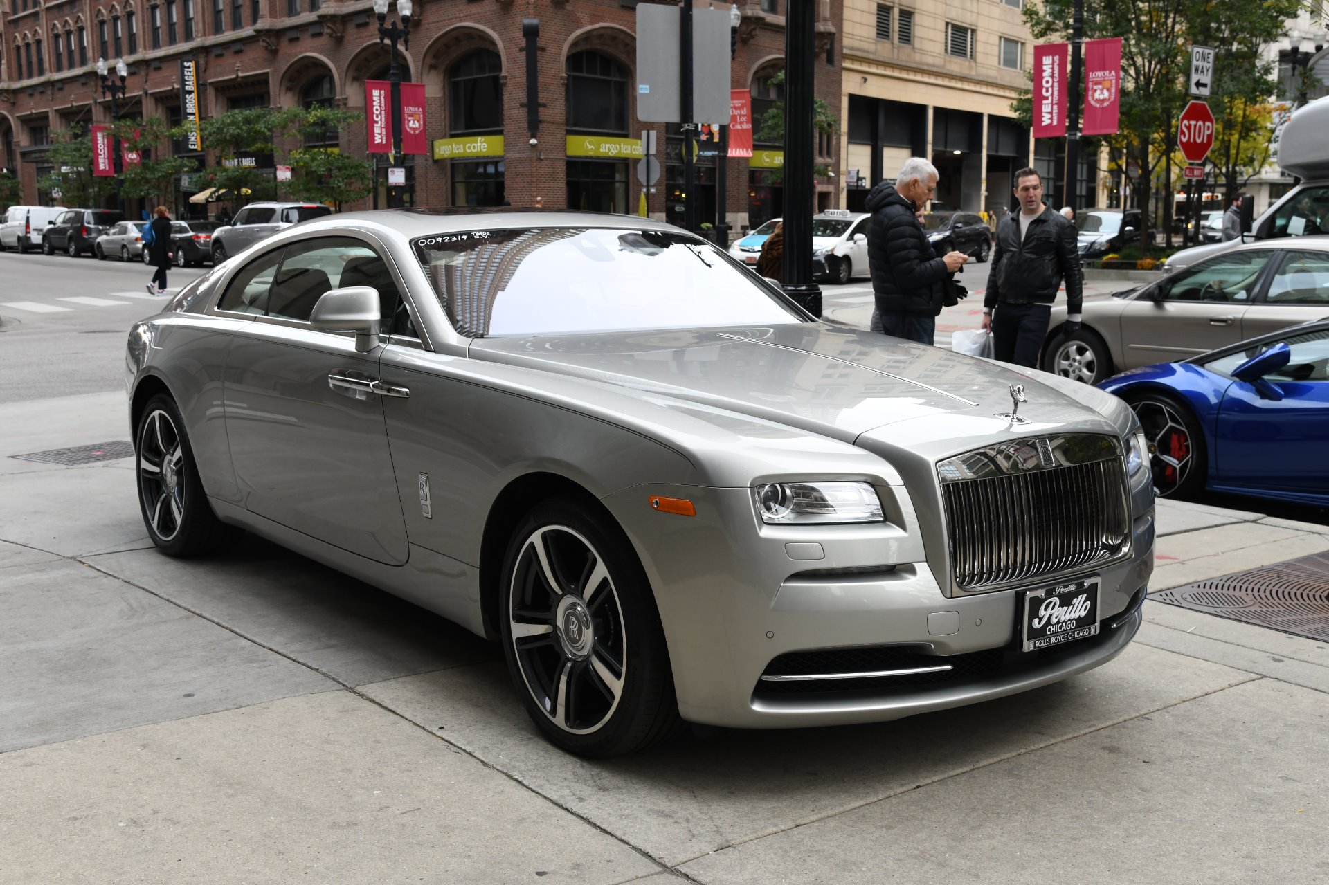 2014 rolls royce wraith stock r216 for sale near chicago. Black Bedroom Furniture Sets. Home Design Ideas