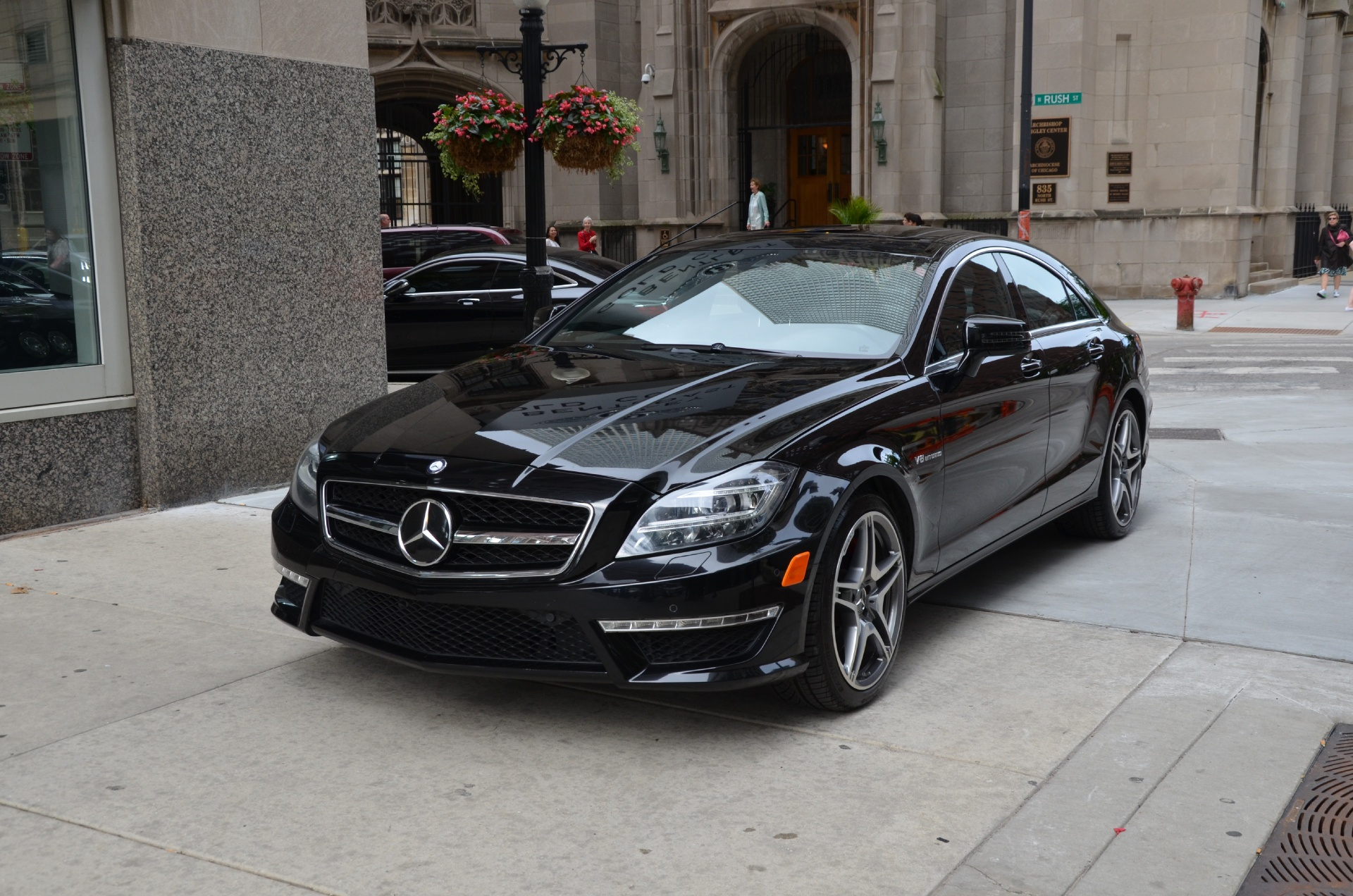 2013 mercedes benz cls class cls63 amg stock gc1718 for for Chicagoland mercedes benz dealers