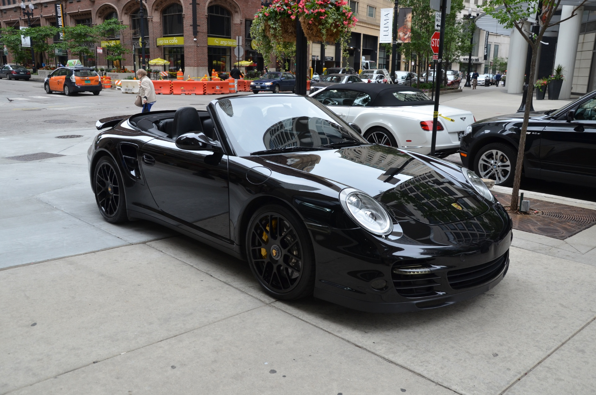 2011 porsche 911 turbo s stock b710a for sale near chicago il il porsche dealer. Black Bedroom Furniture Sets. Home Design Ideas