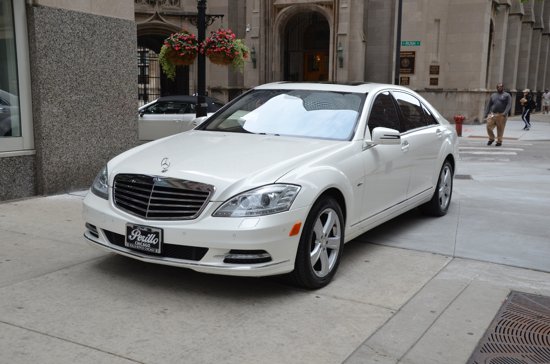 2012 Mercedes Benz S Class S550 4matic Stock M419a For