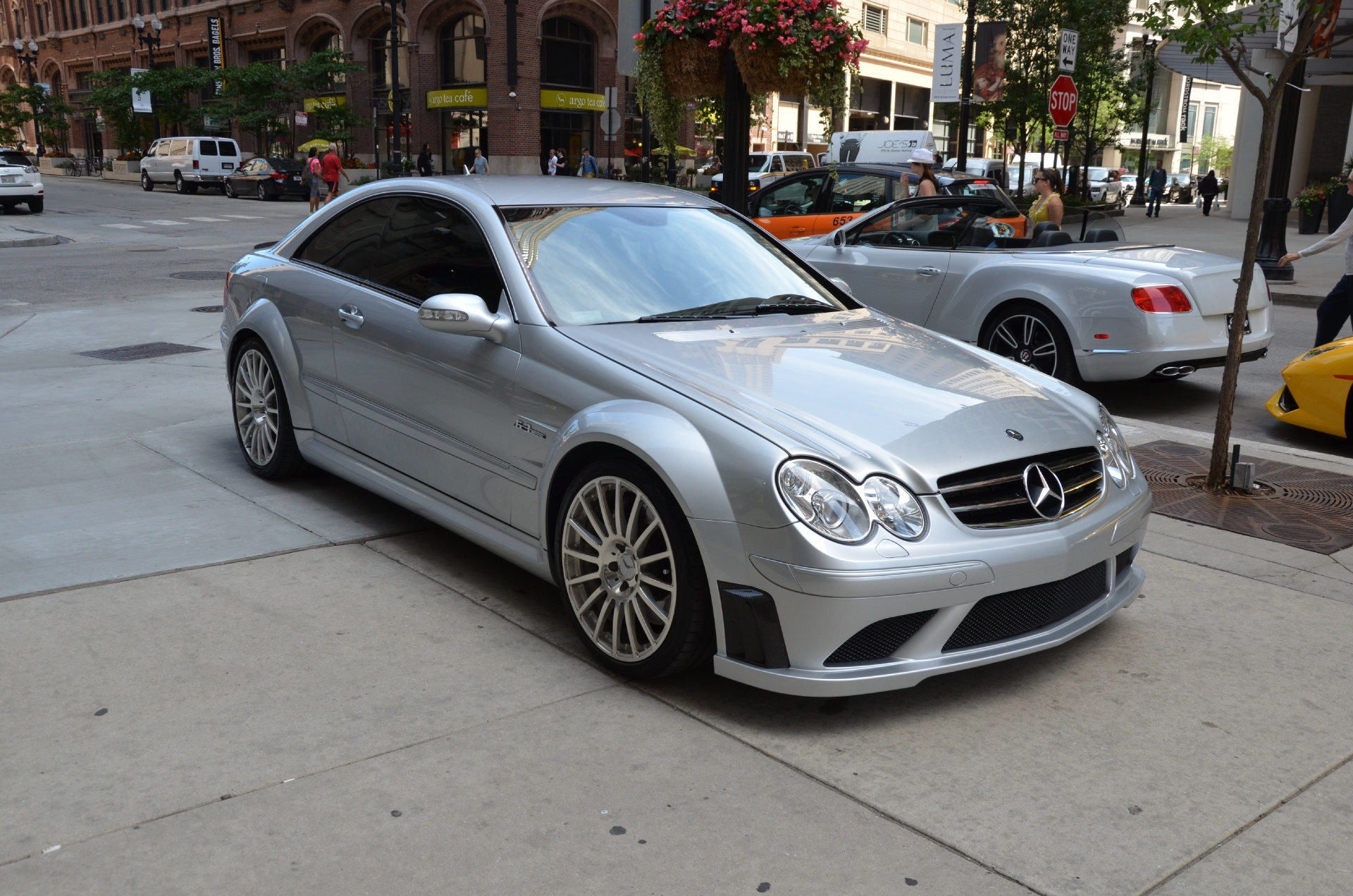 2008 mercedes benz clk class clk63 amg black series stock. Black Bedroom Furniture Sets. Home Design Ideas