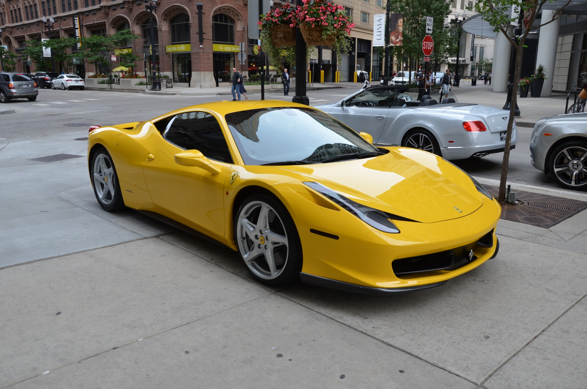 2010 ferrari 458 italia stock gc1683achris for sale near chicago il il ferrari dealer. Black Bedroom Furniture Sets. Home Design Ideas