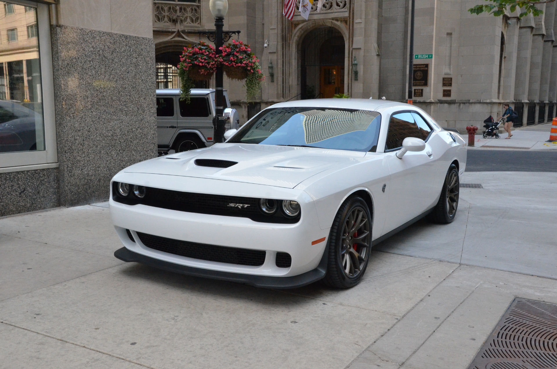 2015 dodge challenger srt hellcat stock gc1430b for sale near chicago il il dodge dealer. Black Bedroom Furniture Sets. Home Design Ideas