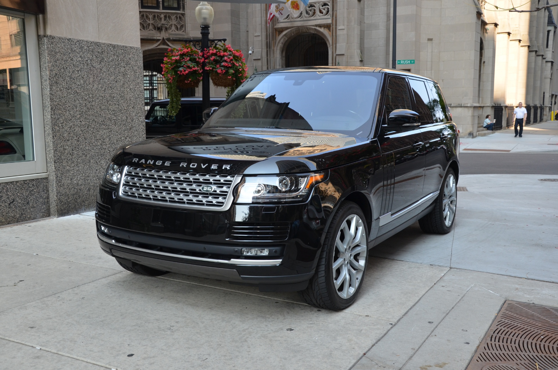 2015 land rover range rover supercharged stock r193aa for sale near chicago il il land. Black Bedroom Furniture Sets. Home Design Ideas